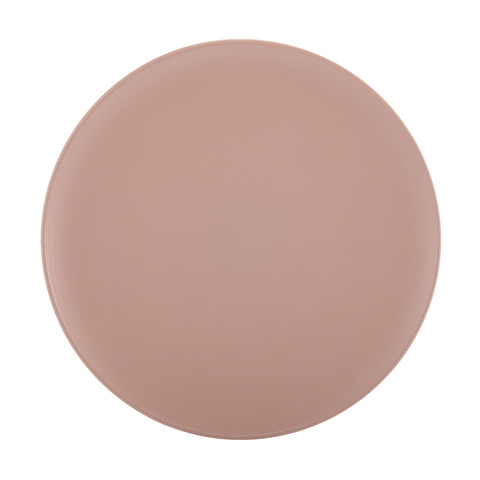 Dinner plate - blush  Price: $2.00  Qty: 12