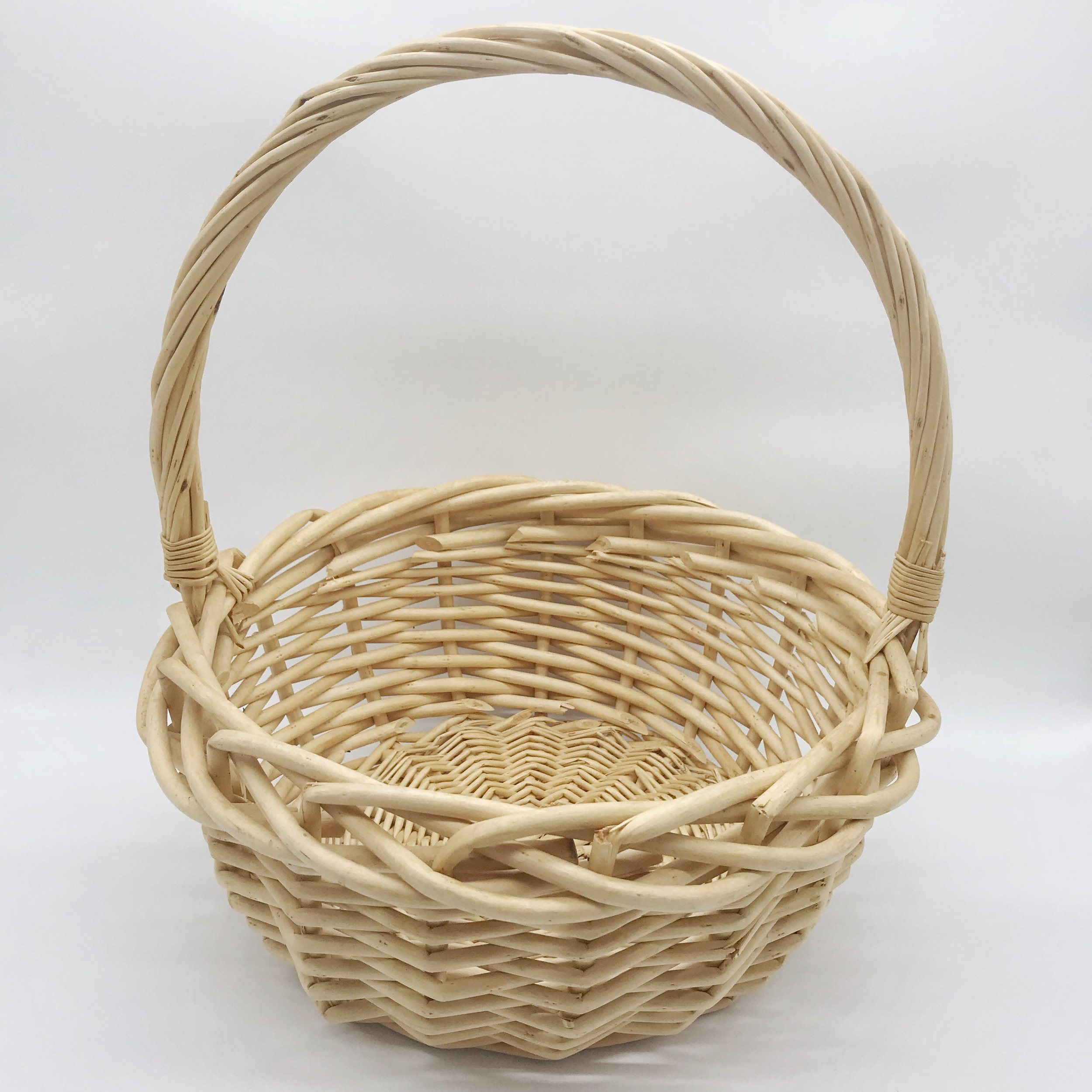 Basket - cane (small)  Price: $3.00  Qty: 1