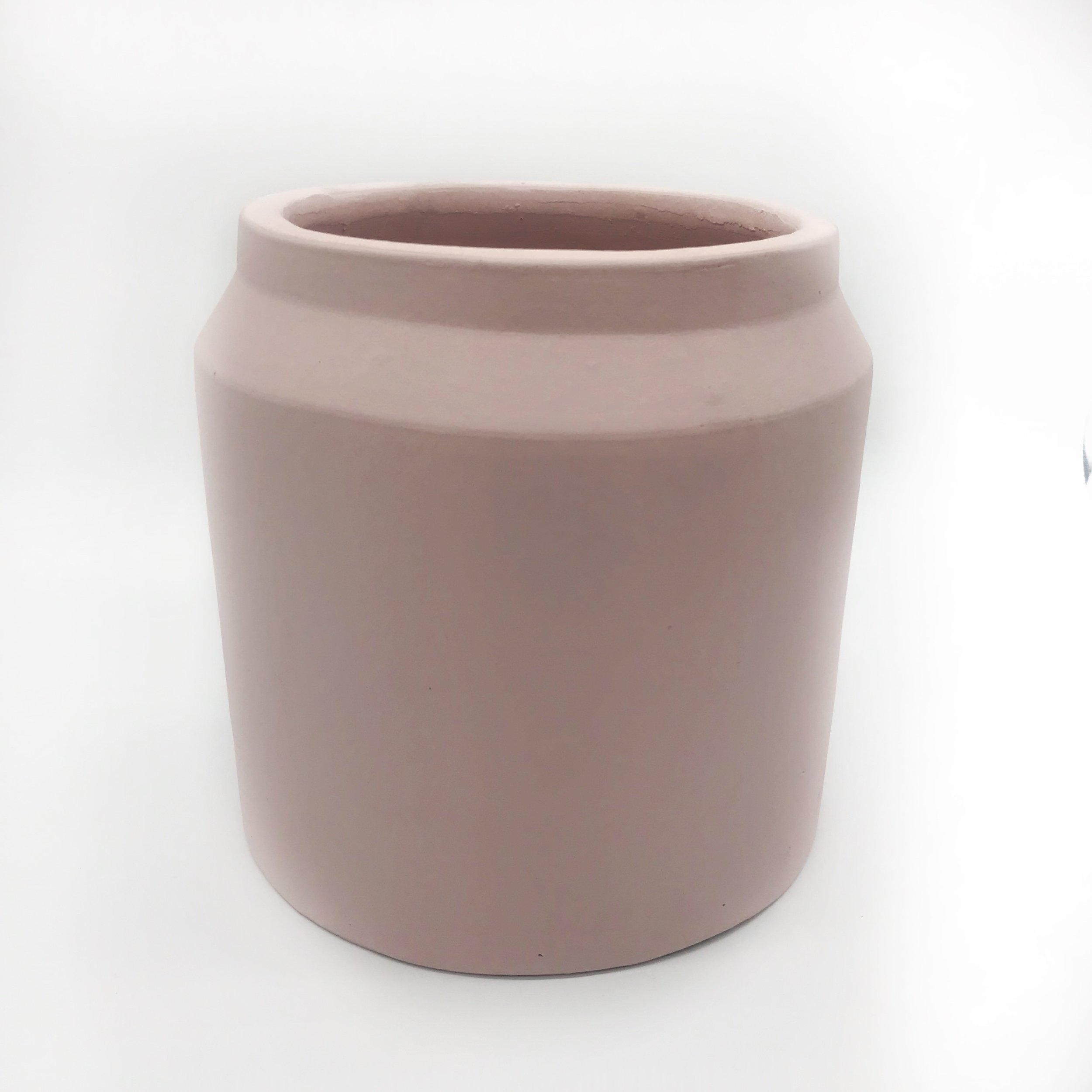 Planter - blush (large)  Price: $5.00  Qty: 5