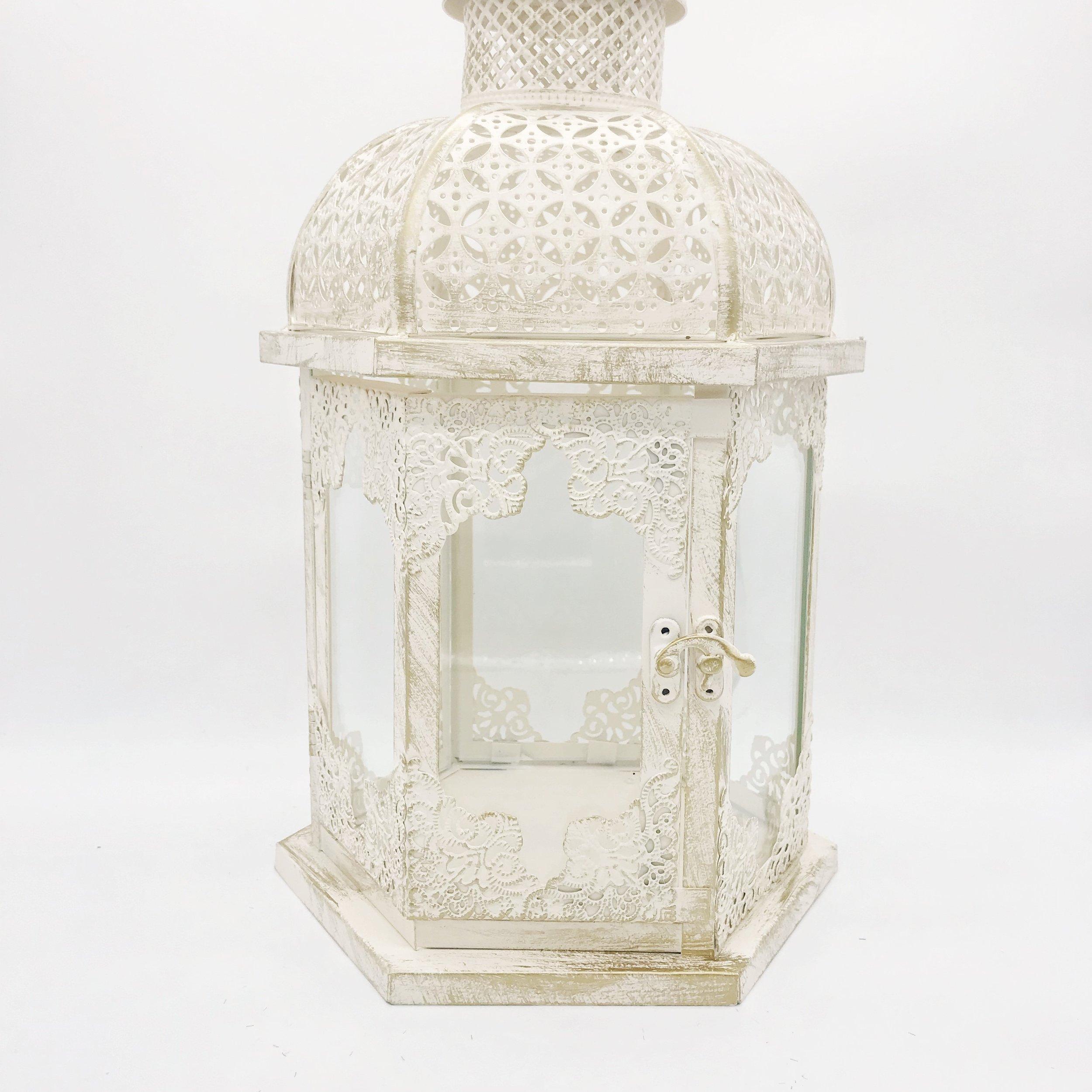 Wishing well - vintage lantern (large)  Price: $30.00  Qty: 1