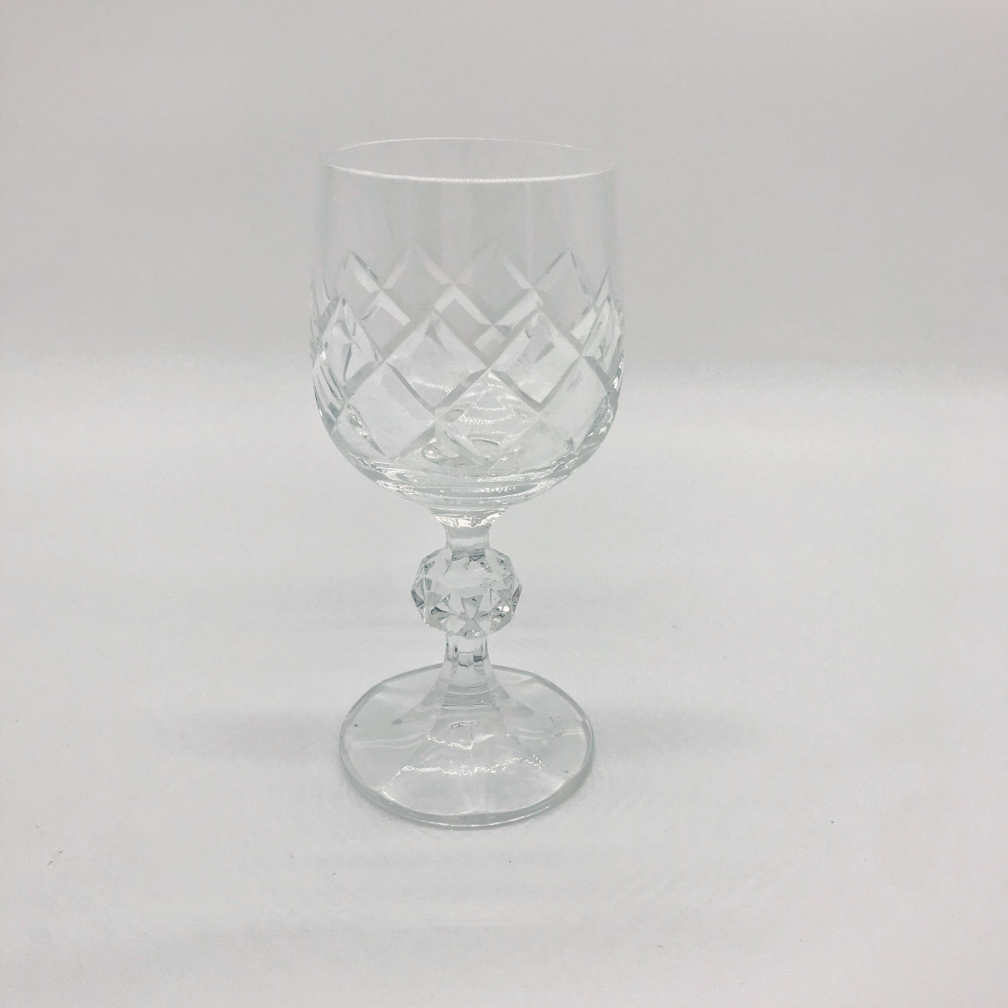 Vintage goblet (small)  Price: $2.00  Qty: 1 set