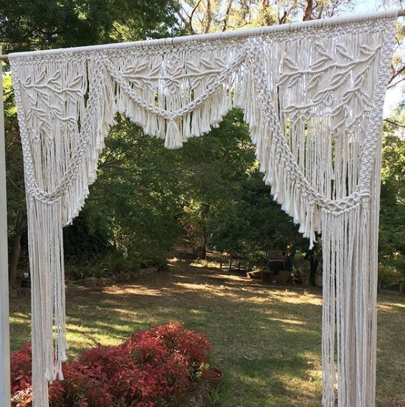 Macrame Arbour Hanger  Price: $120.00  Qty: 1