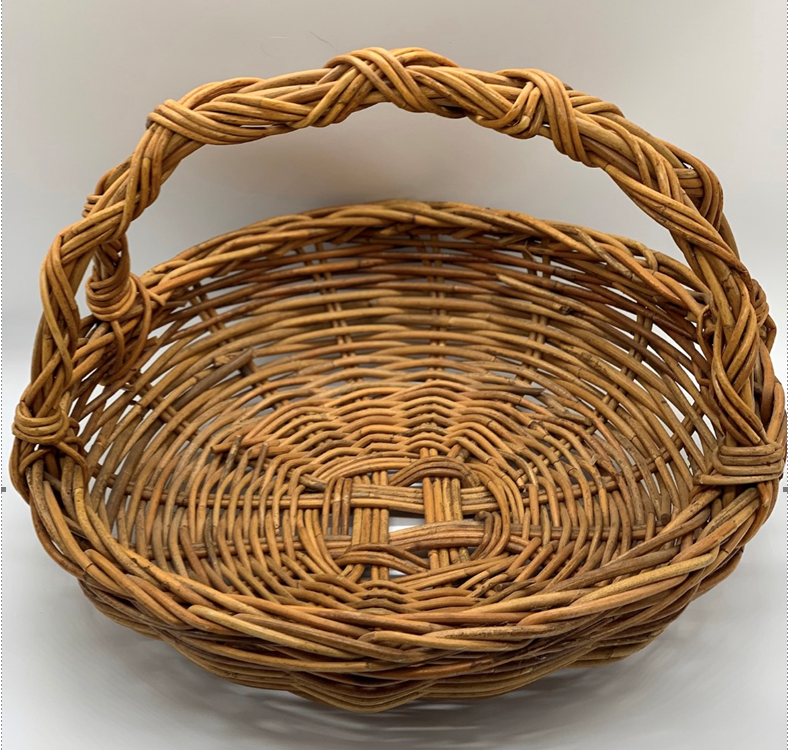 Basket - round bakers (large)  Price: $6.00  Qty: 1