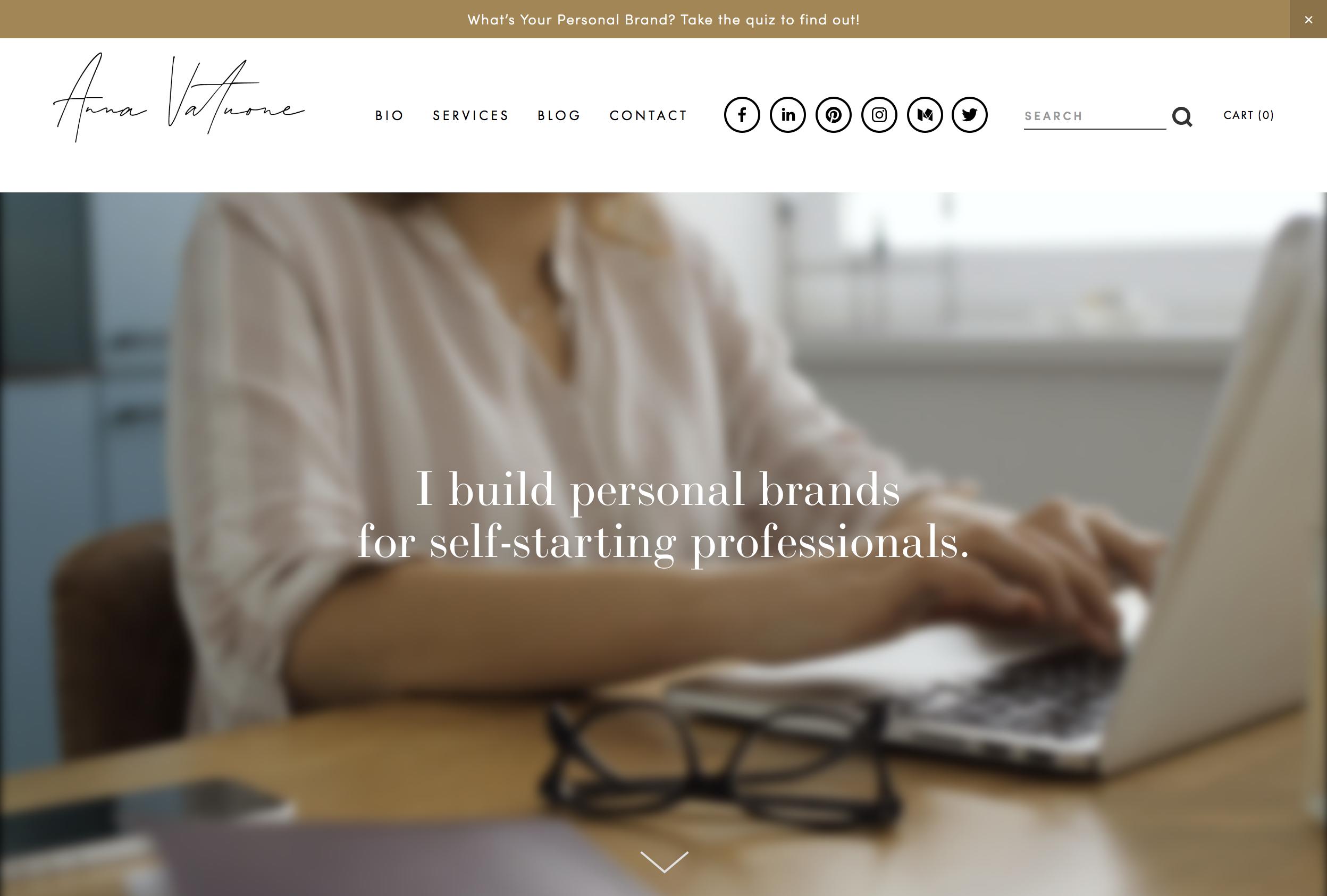 Anna Vatuone Personal Brand Consultant