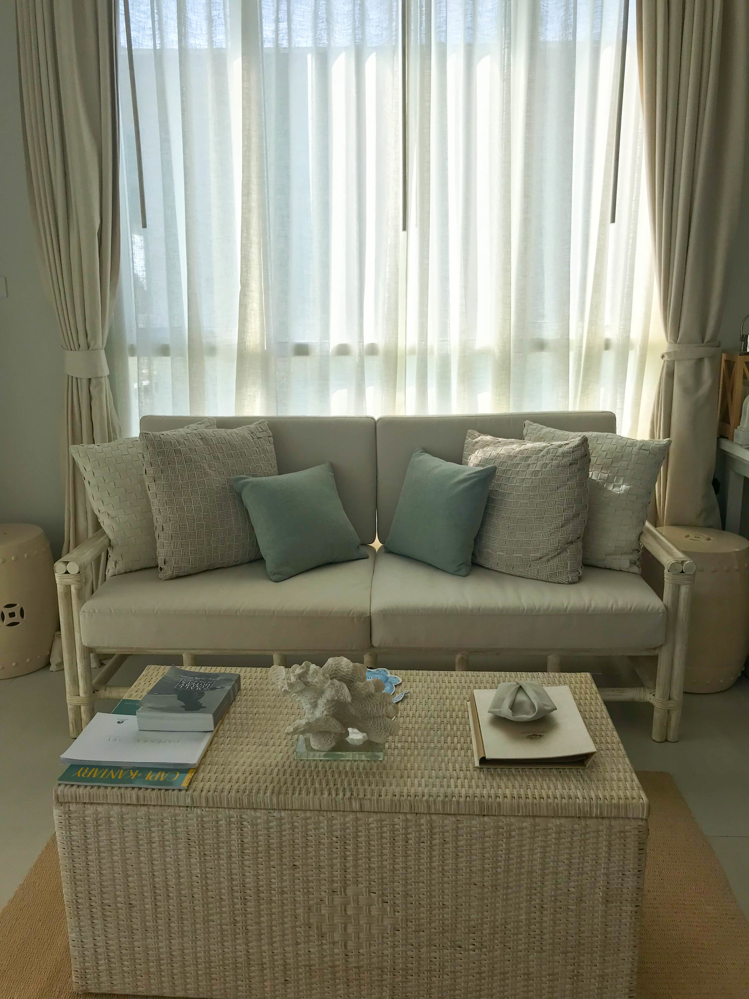 Thailand Cape Kudu Hotel Koh Yao Noi - coastal living room area