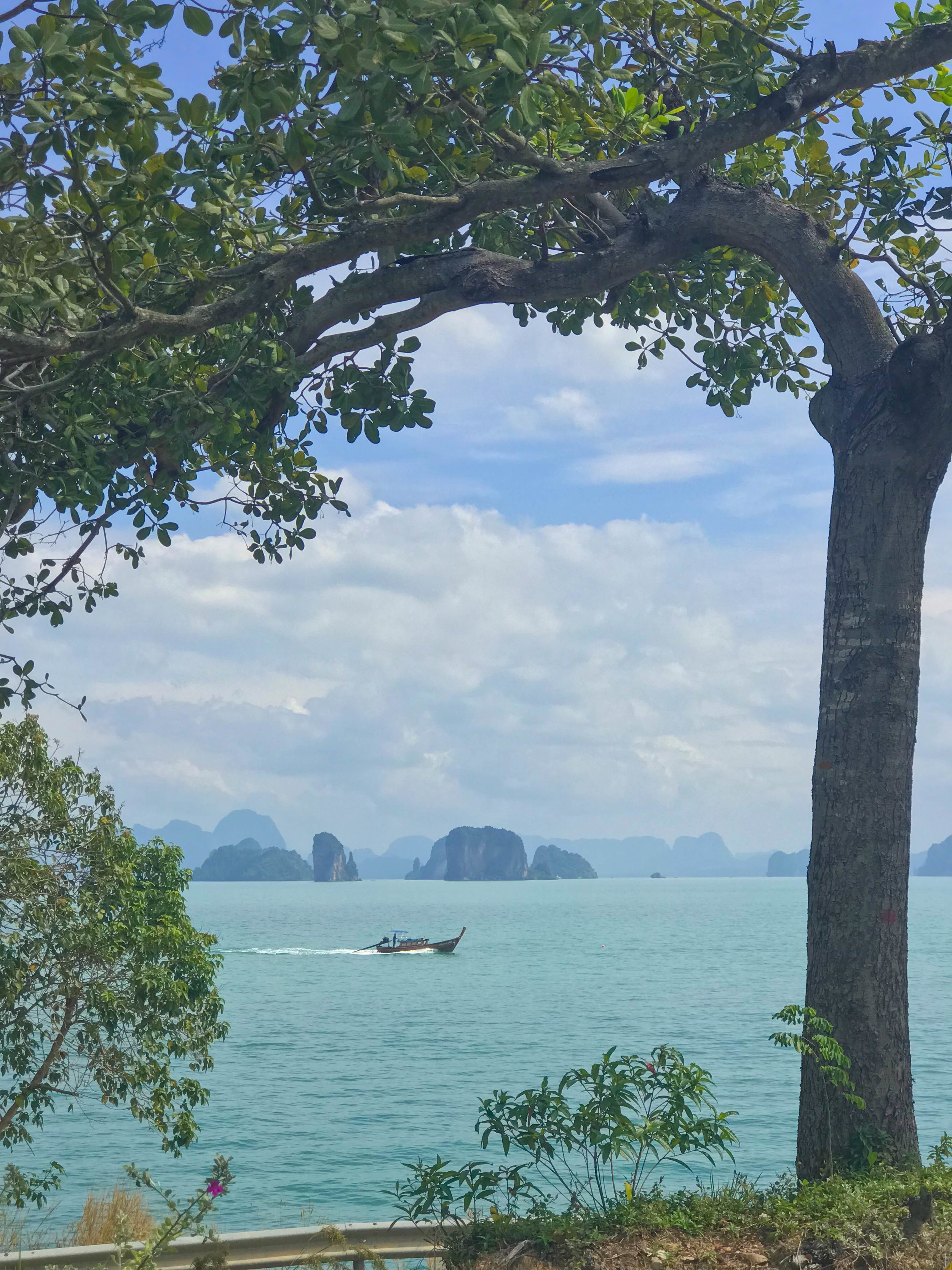 Thailand Cape Kudu Hotel Koh Yao Noi - Hotel views longtail boat