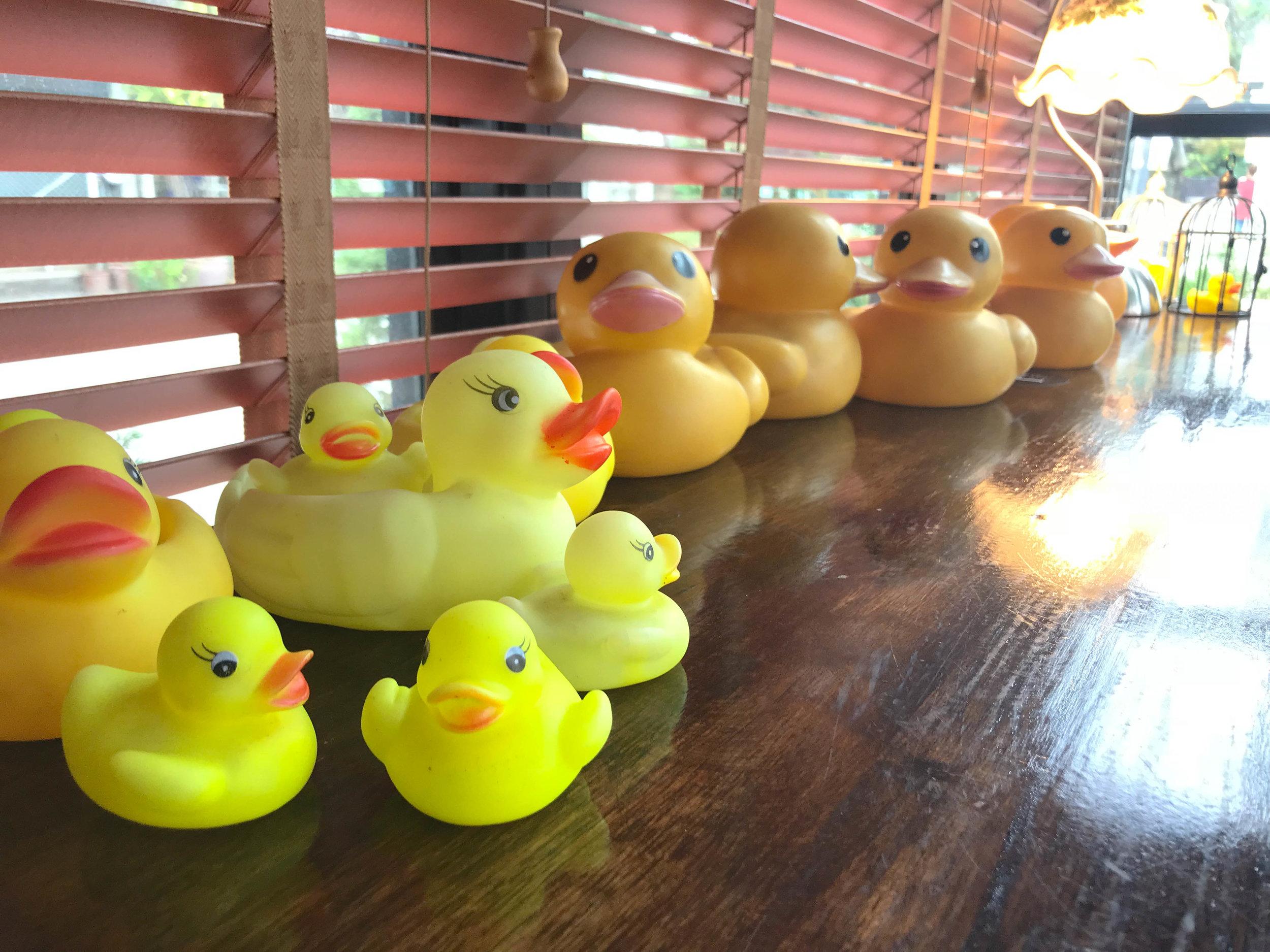 Ice Love You Chiang Mai Ice Cream - Bath tub yellow rubber ducky