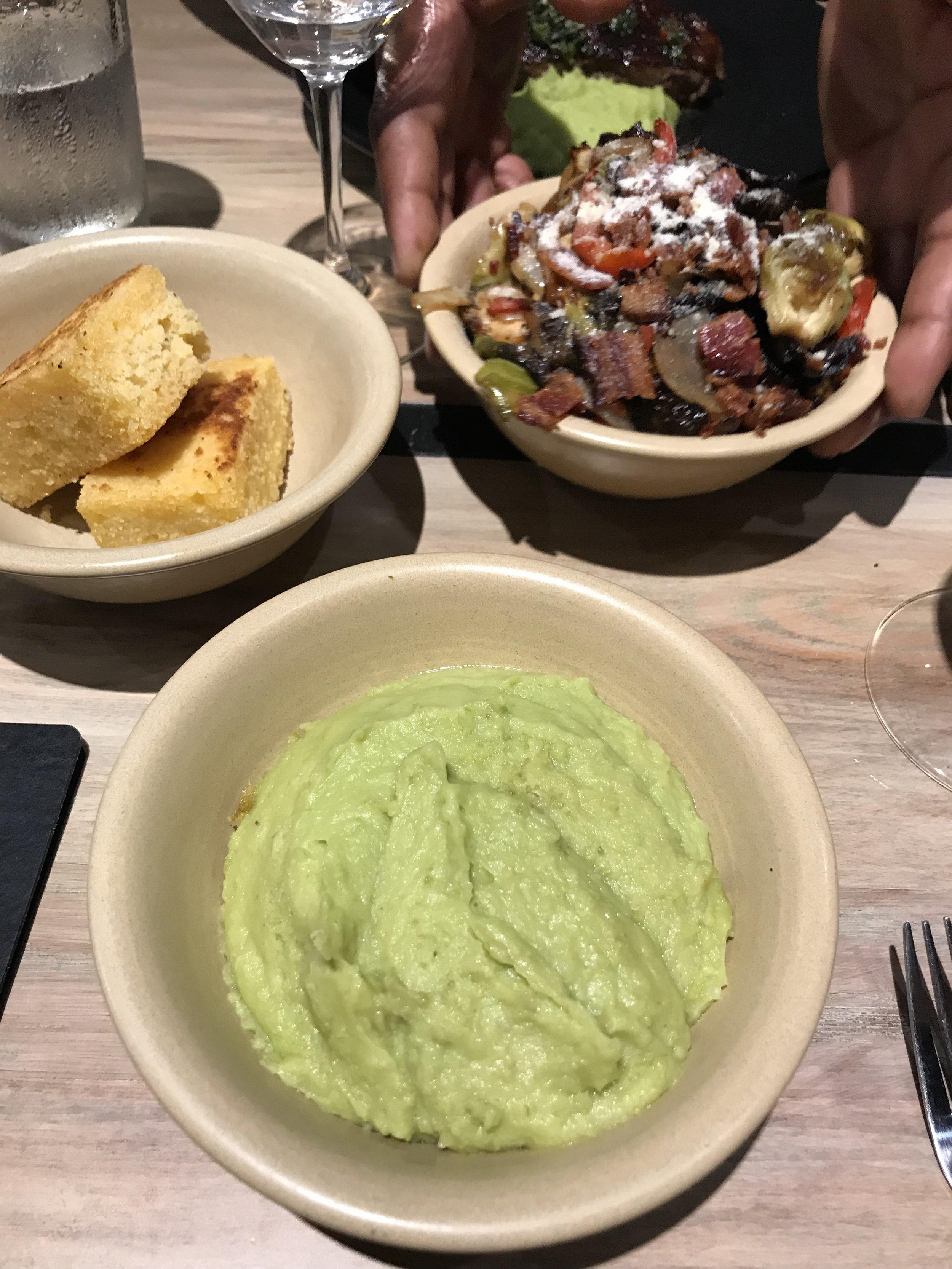 Monkeypod Restaurant - Kaanapali Beach, Maui, Hawaii Green Mashed Potatoes