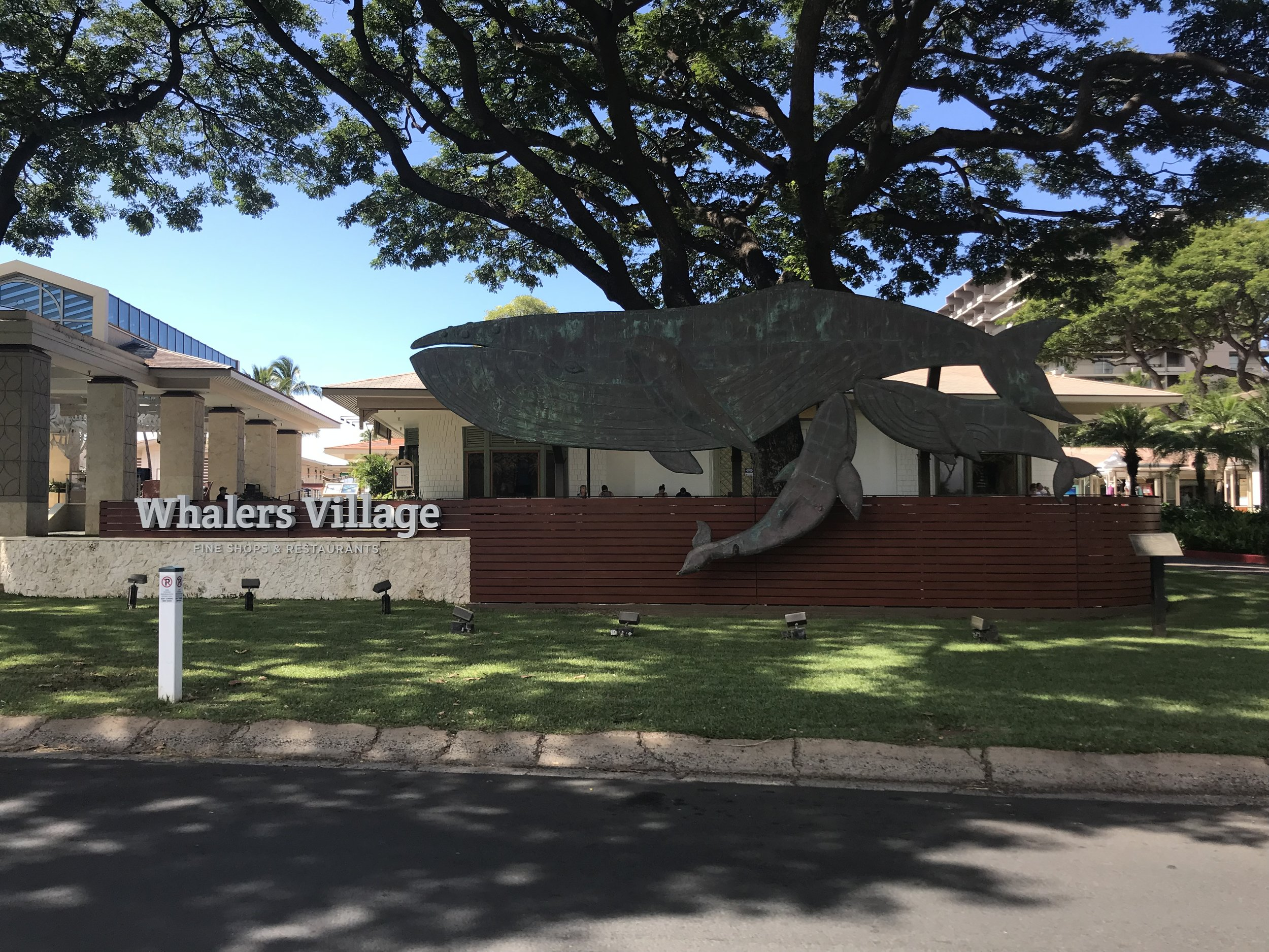 Whalers Village - Kaanapali - Maui, Hawaii