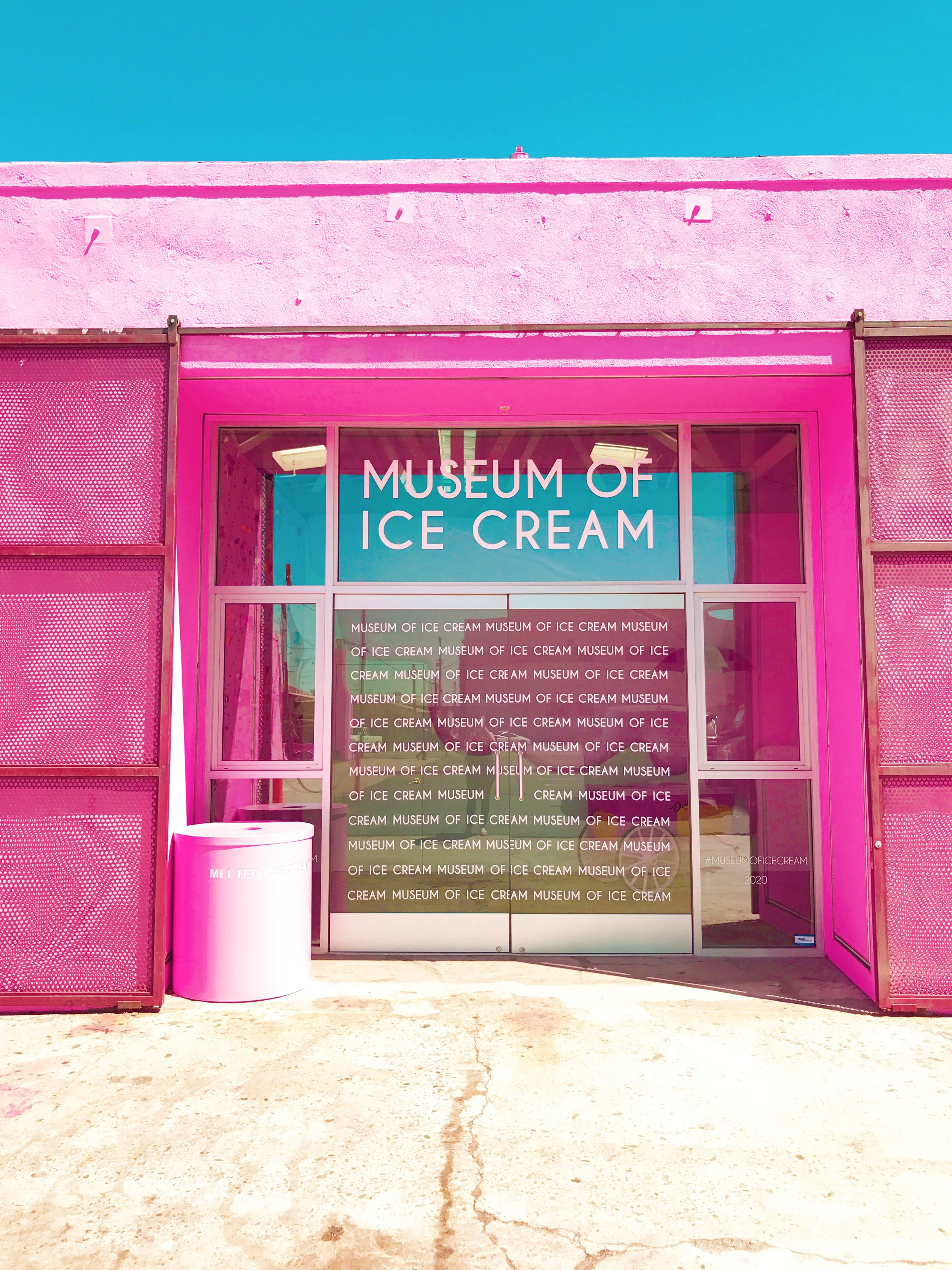 Museum of Ice Cream - Pink Main Entrance