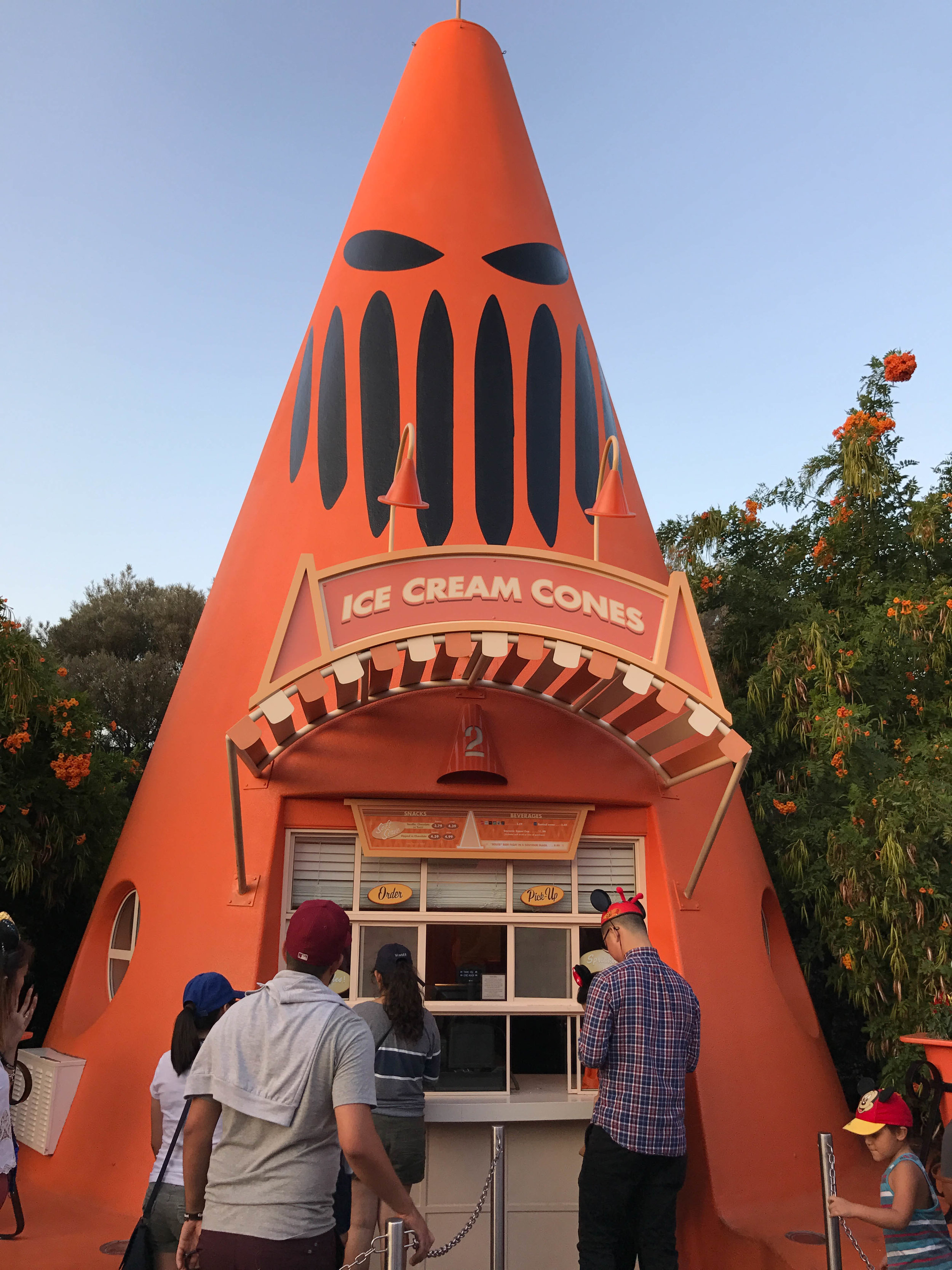 Copy of California Adventure Halloween Time Cars Land Cozy Cone Motel