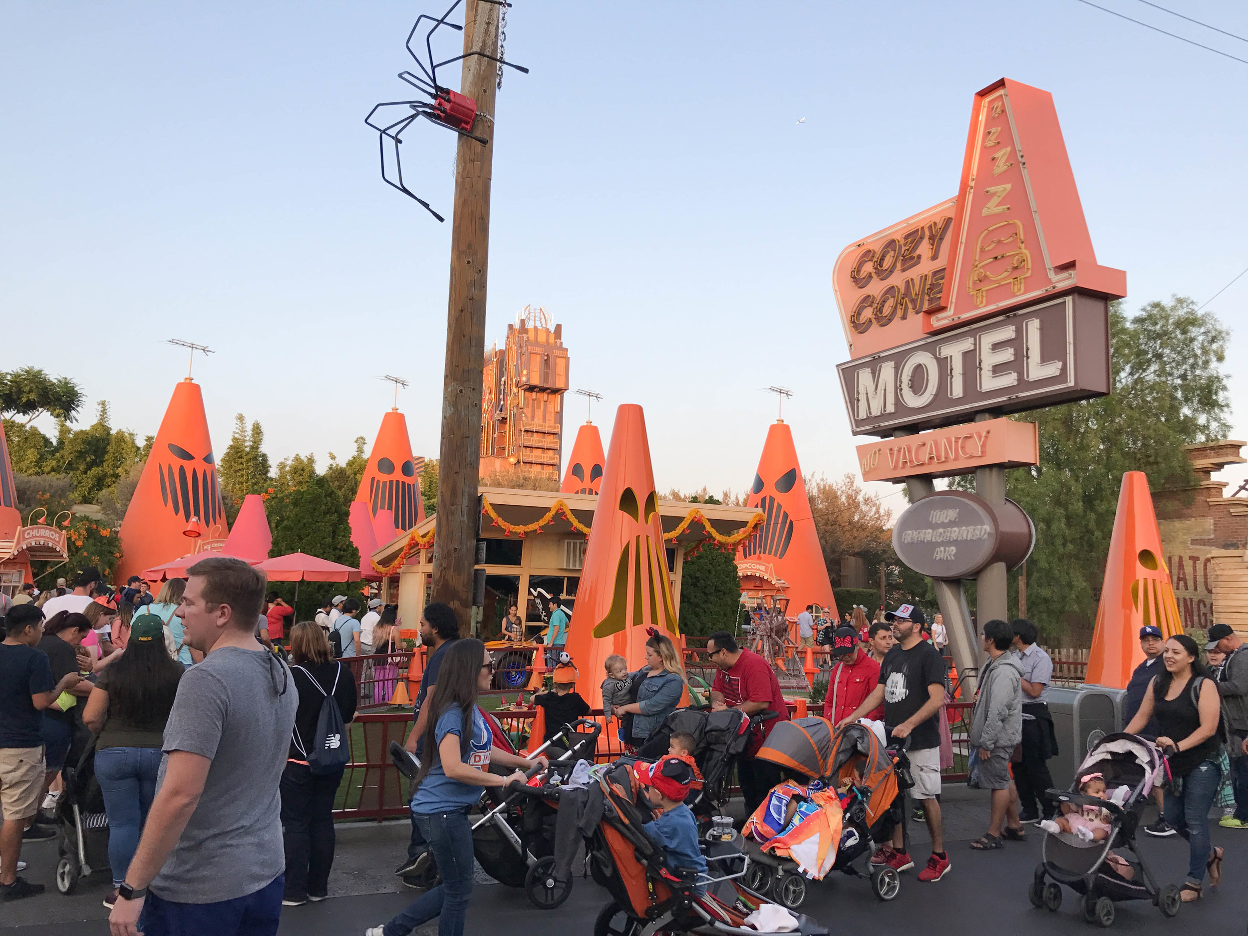 Copy of California Adventure Halloween Time Cars Land