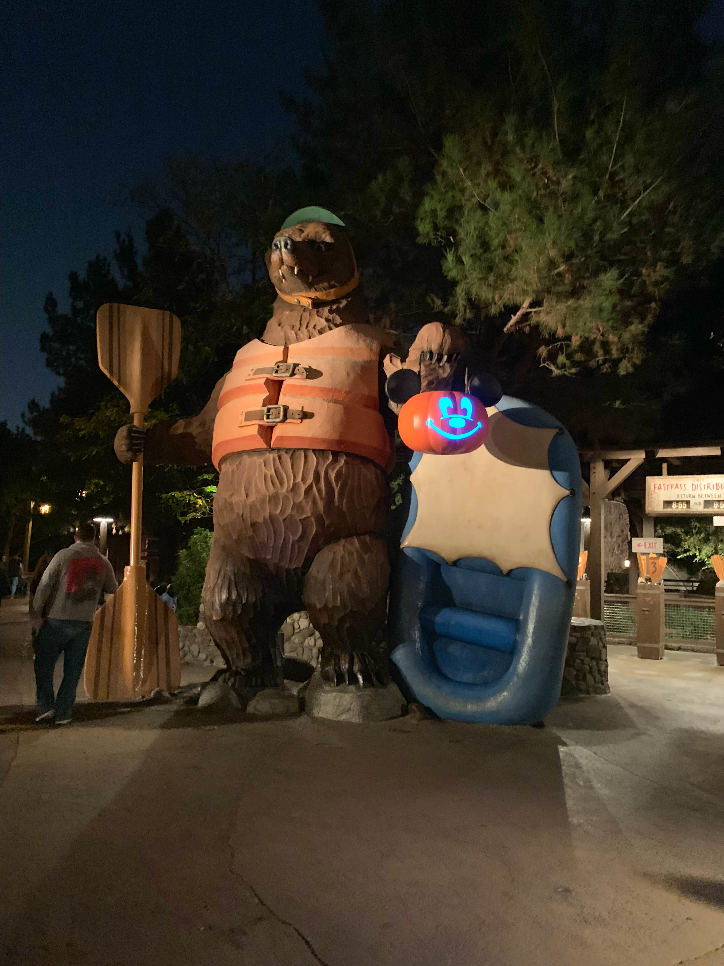 Disneyland Halloween California Adventure Bear
