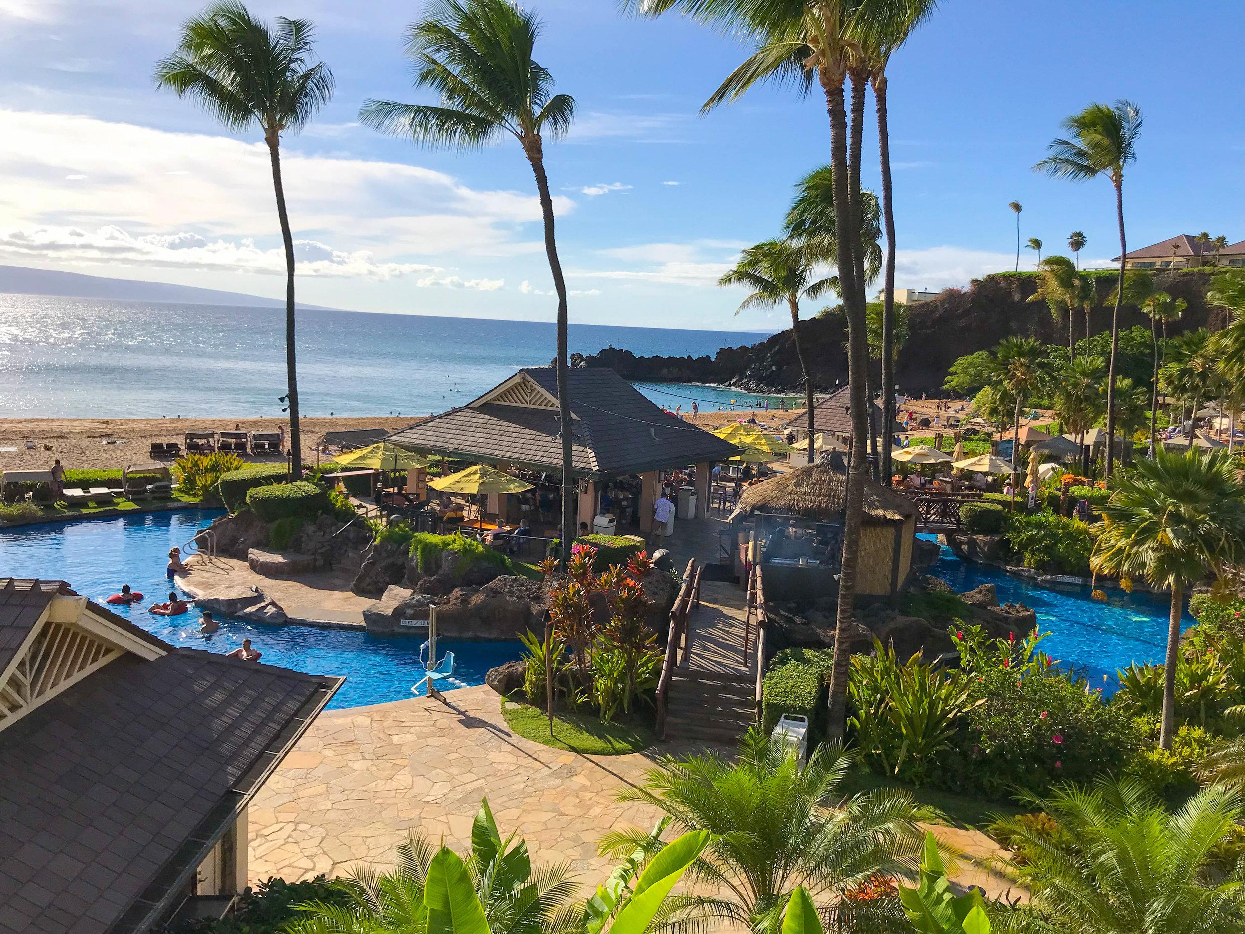Sheraton Maui Resort Pool Views