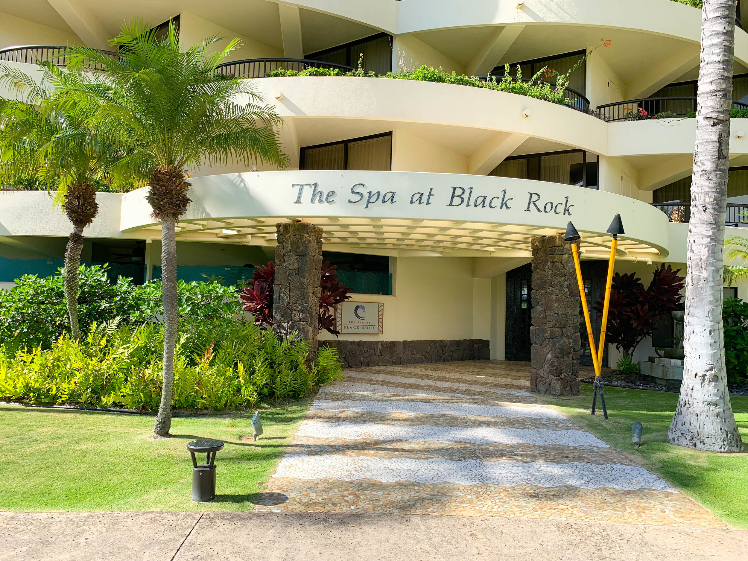ENTRANCE TO THE SPA AT BLACK ROCK