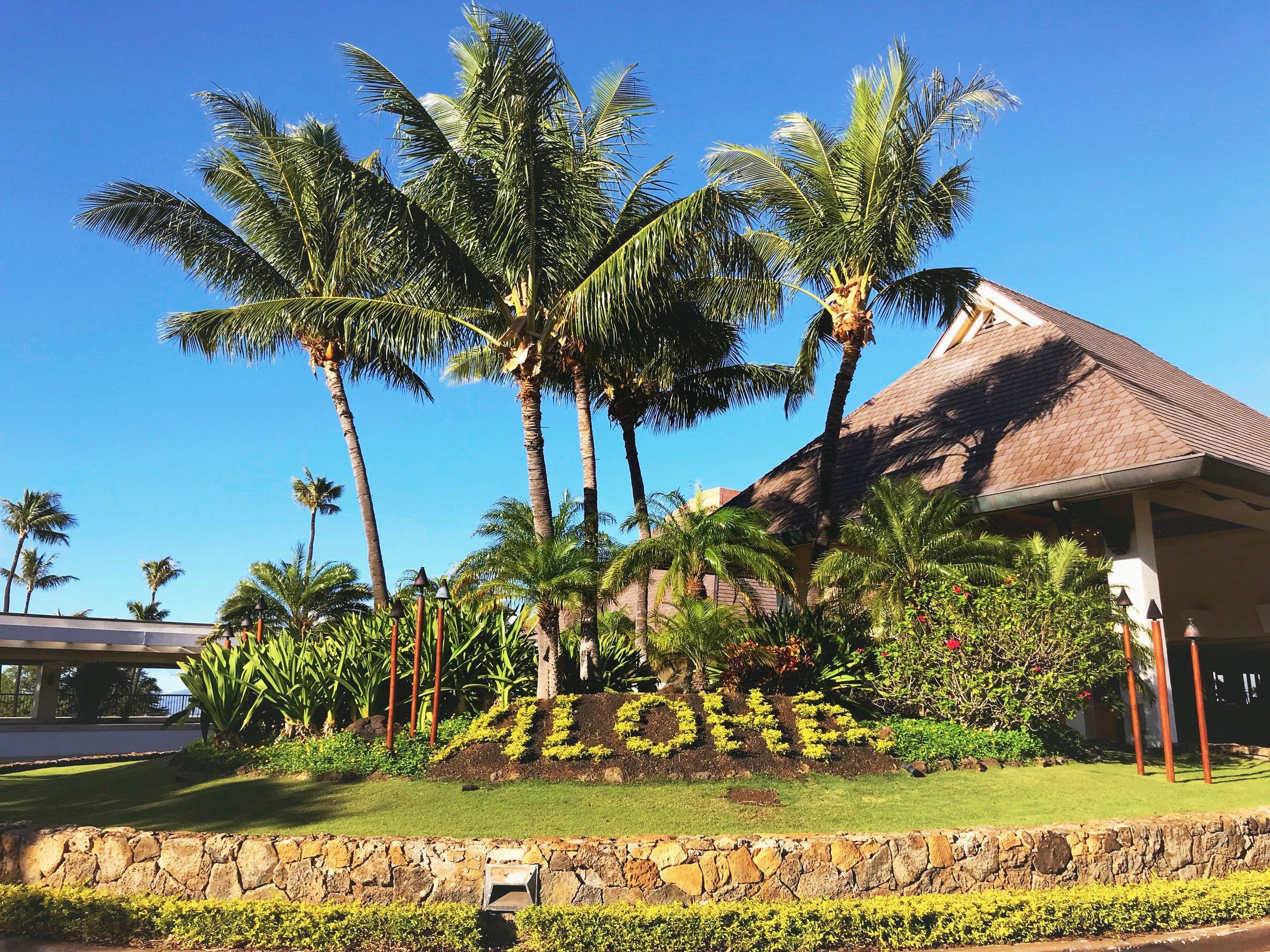 Sheraton Maui Resort and Spa - ALOHA