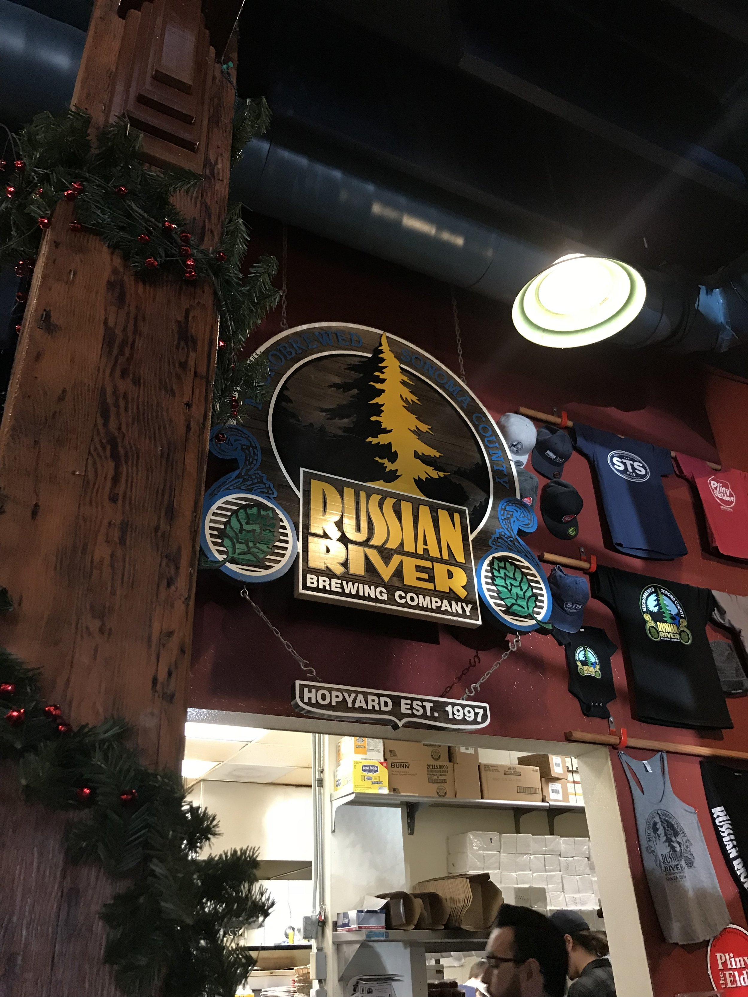 Russian River Brewery Brew pub