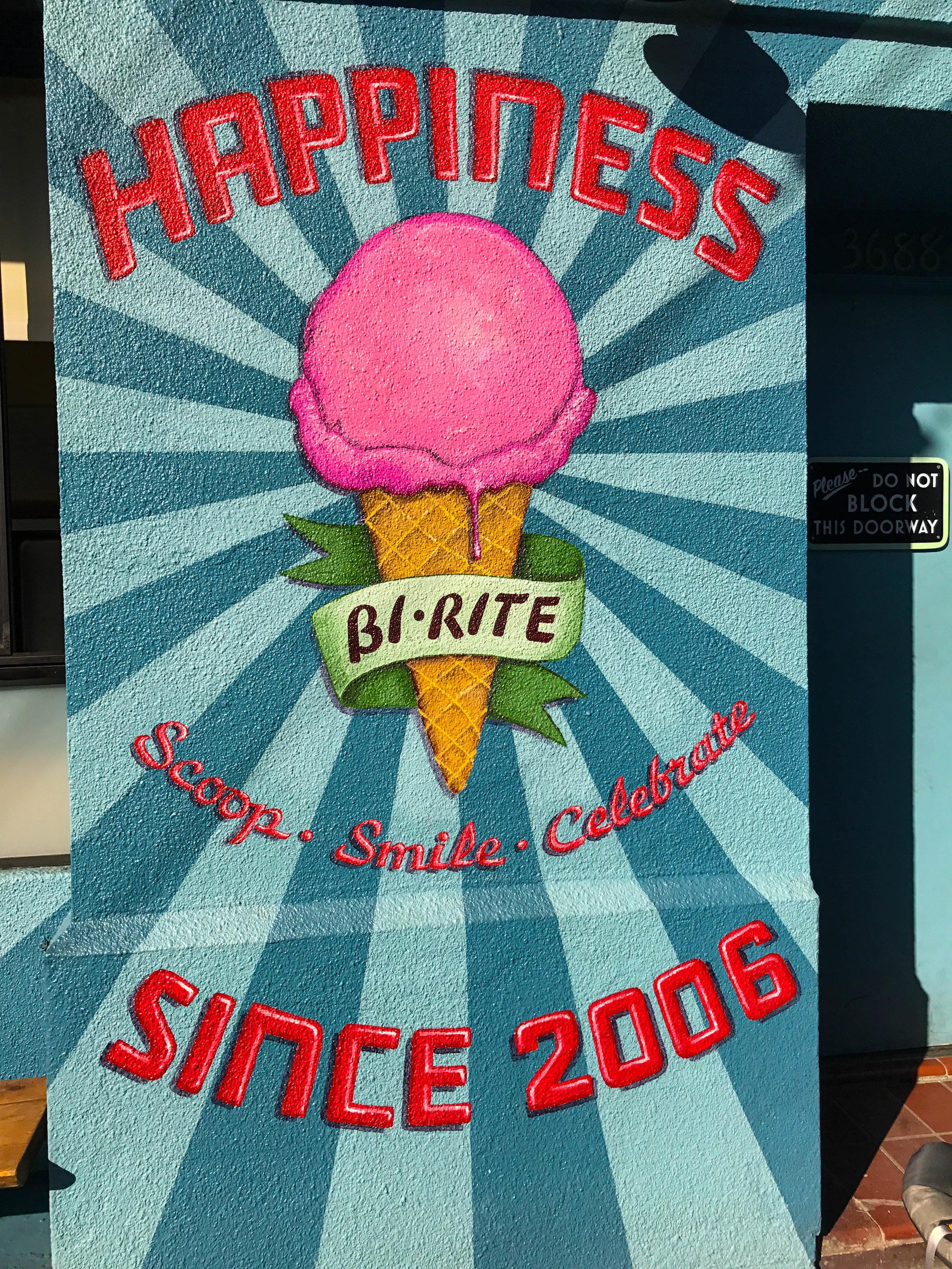 Bi-Rite Ice Cream Review - Happiness, Scoop, Smile, Celebrate