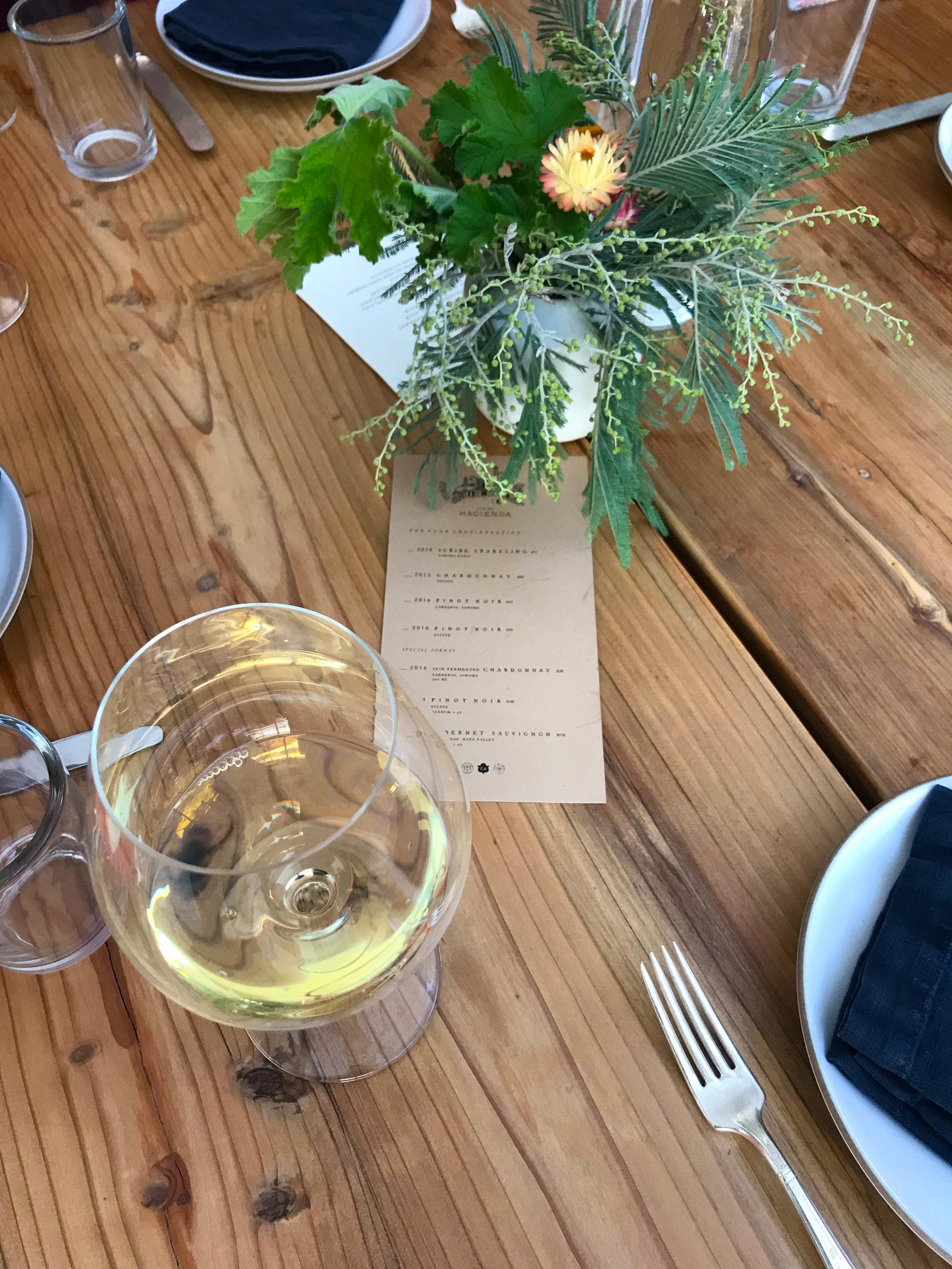 Scribe Wine - Sonoma Wine Tasting