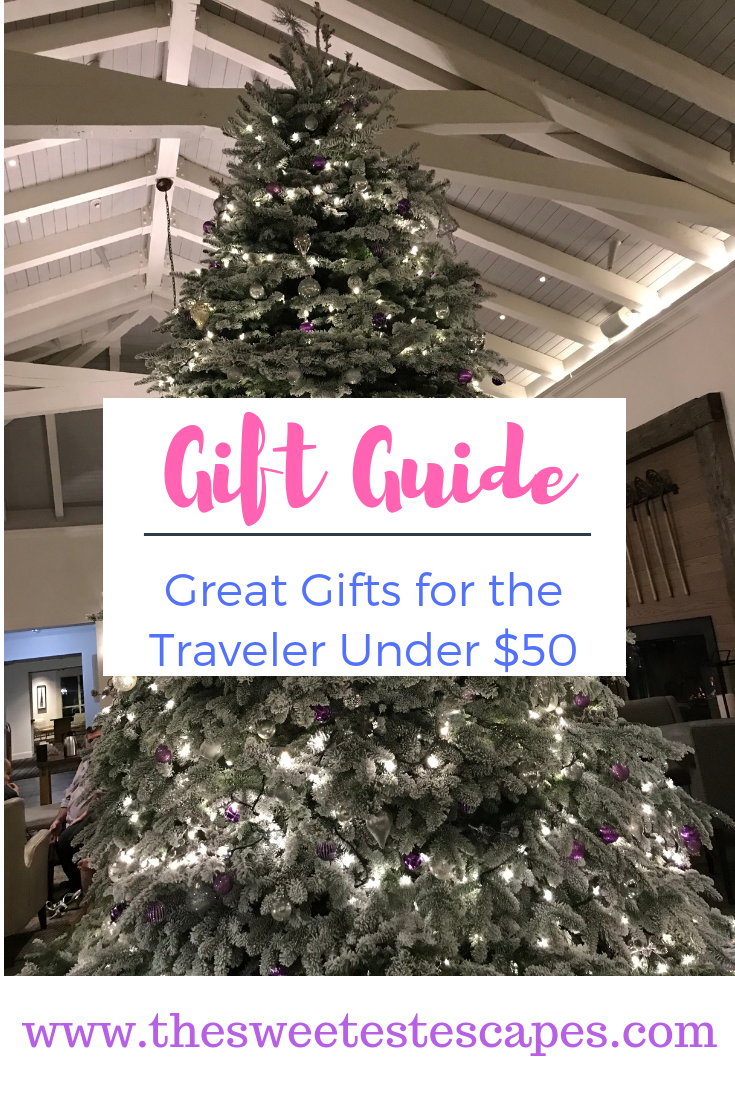 Holiday Gift Guide for the Traveler Under $50