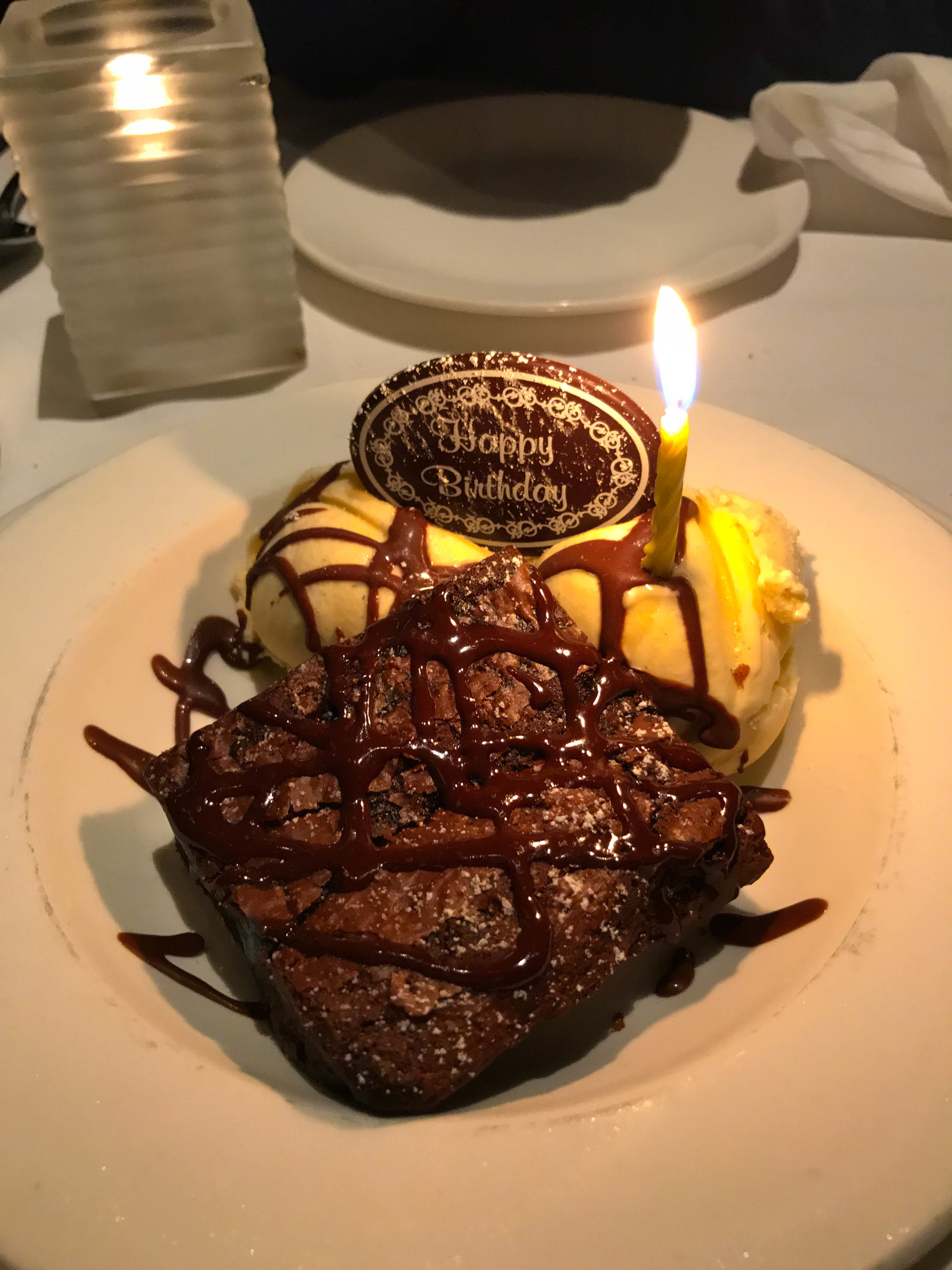 Napa Sonoma Weekend Itinerary - Brownie Sundae at Cole's Chop House