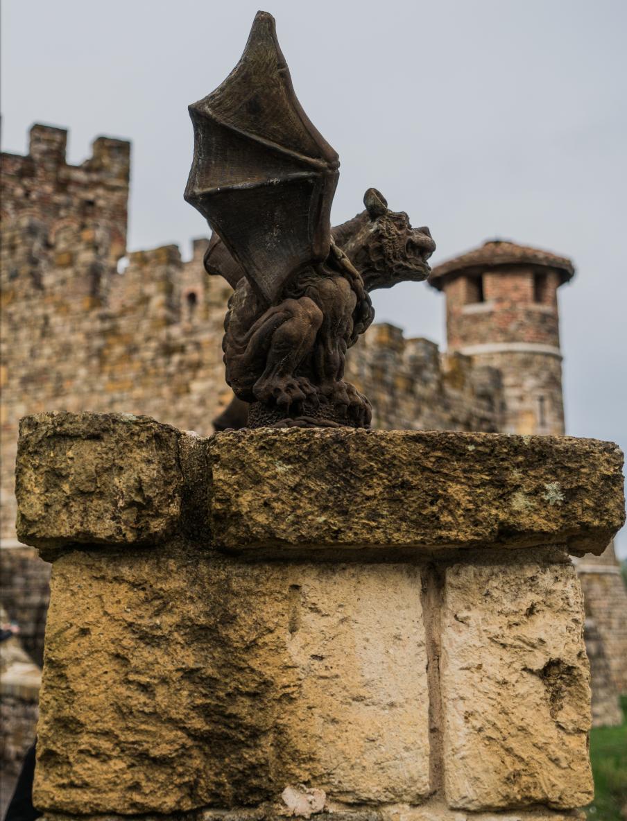 Castello Di Amorosa gargoyle