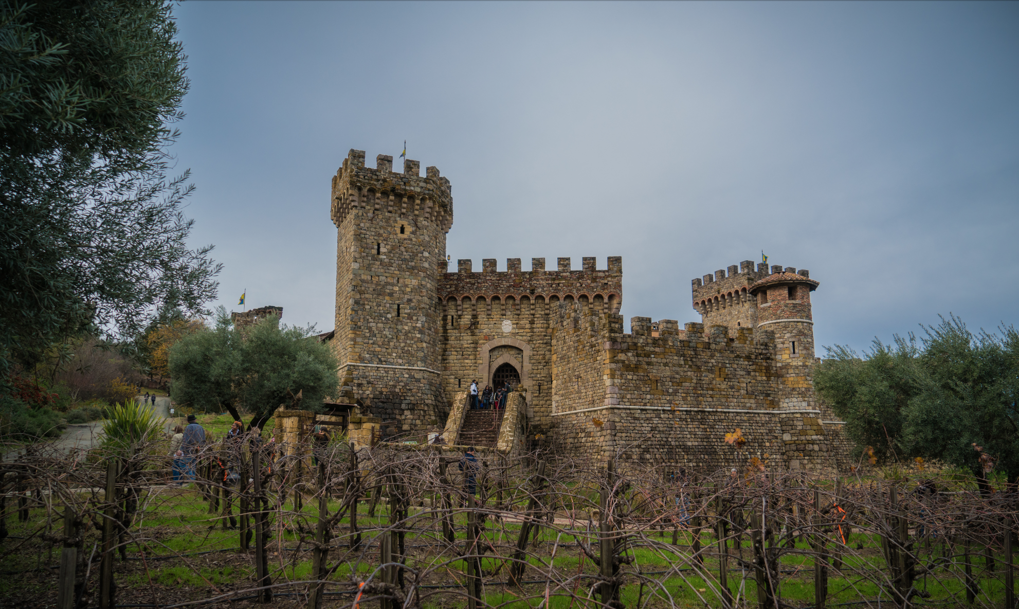 Castello Di Amorosa castle