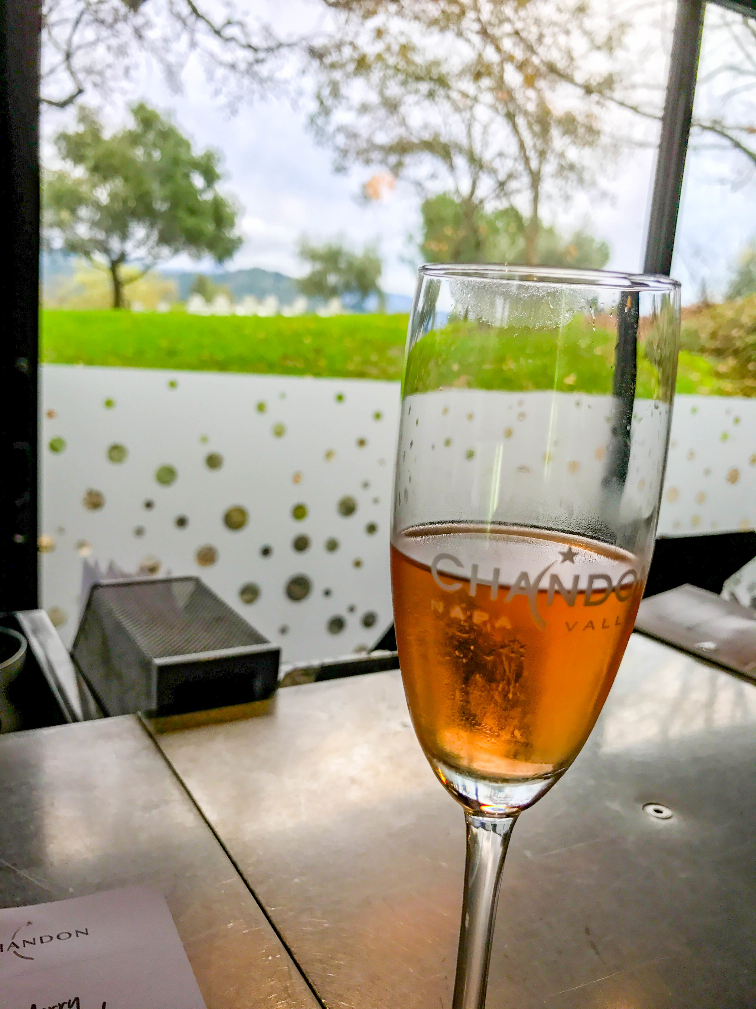 Chandon champagne winery Napa
