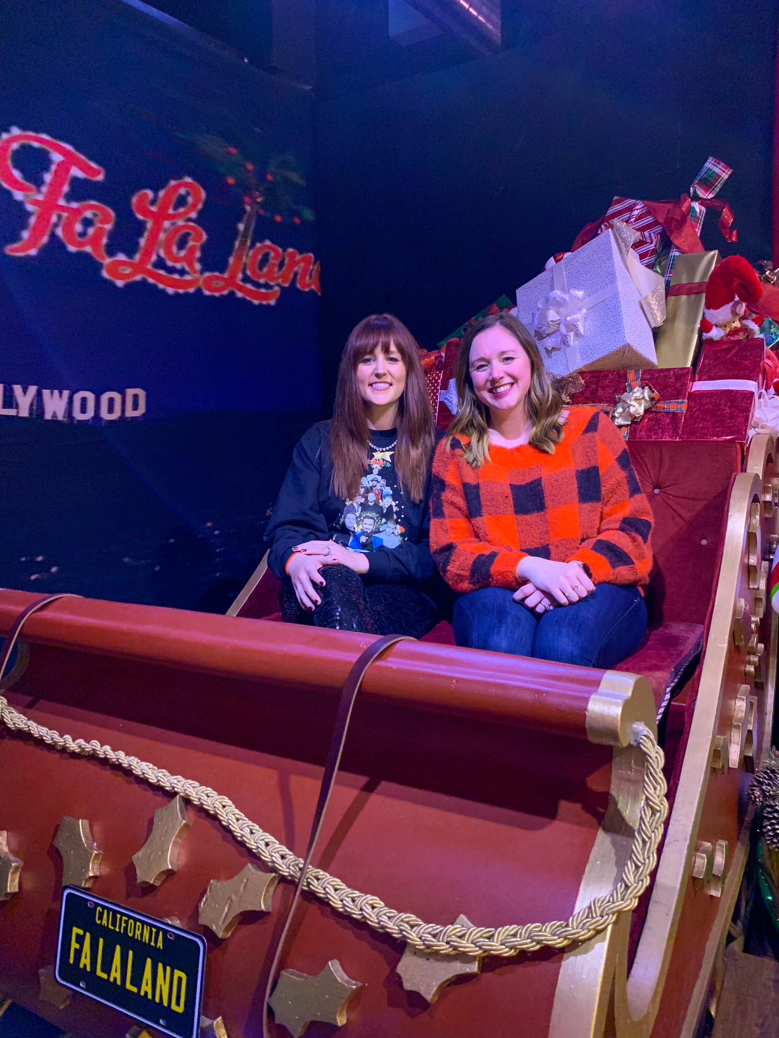 Fa La Land Downtown Los Angeles - Sleigh Ride