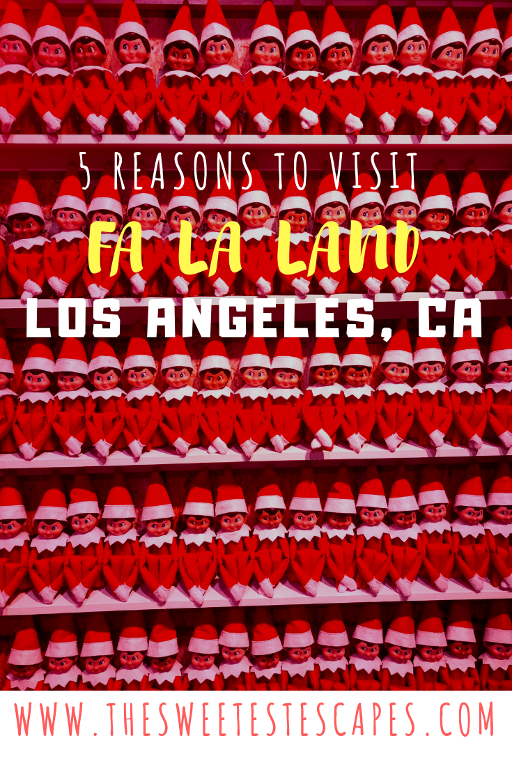 5 Reasons to Visit Fa La Land Downtown LA
