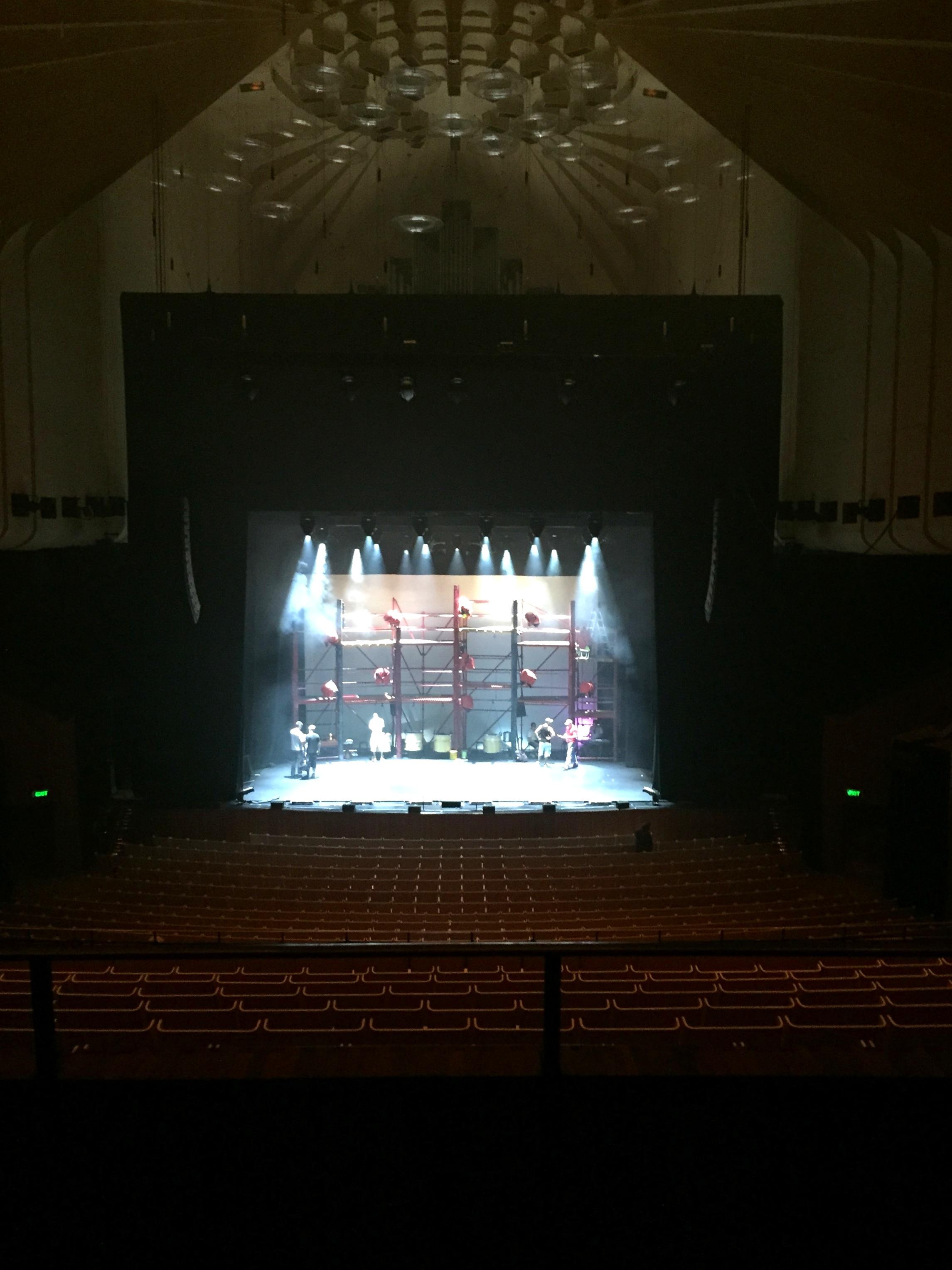 Sydney Opera House inside wood