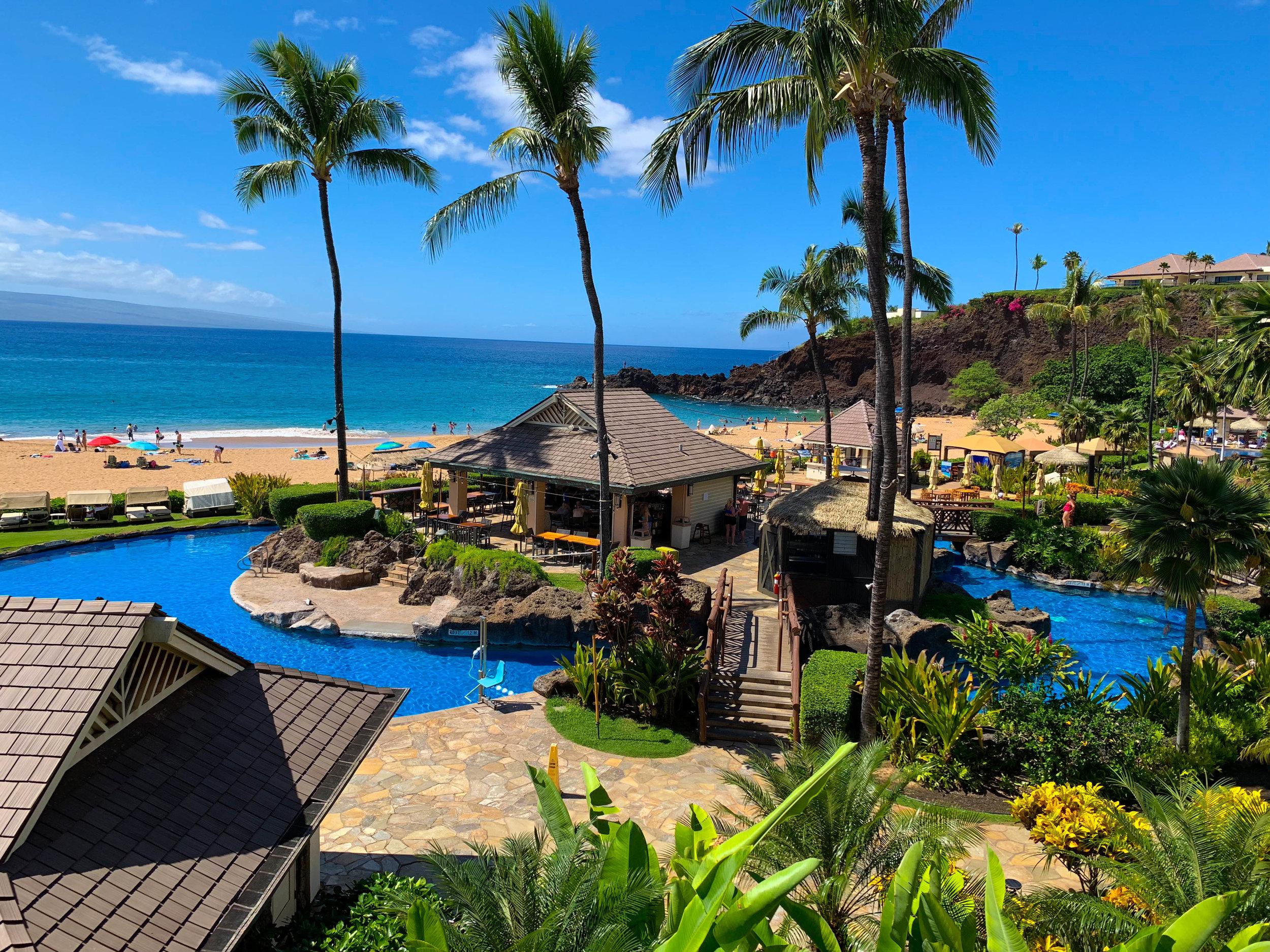 Maui Hawaii Sheraton Hotel - Itinerary