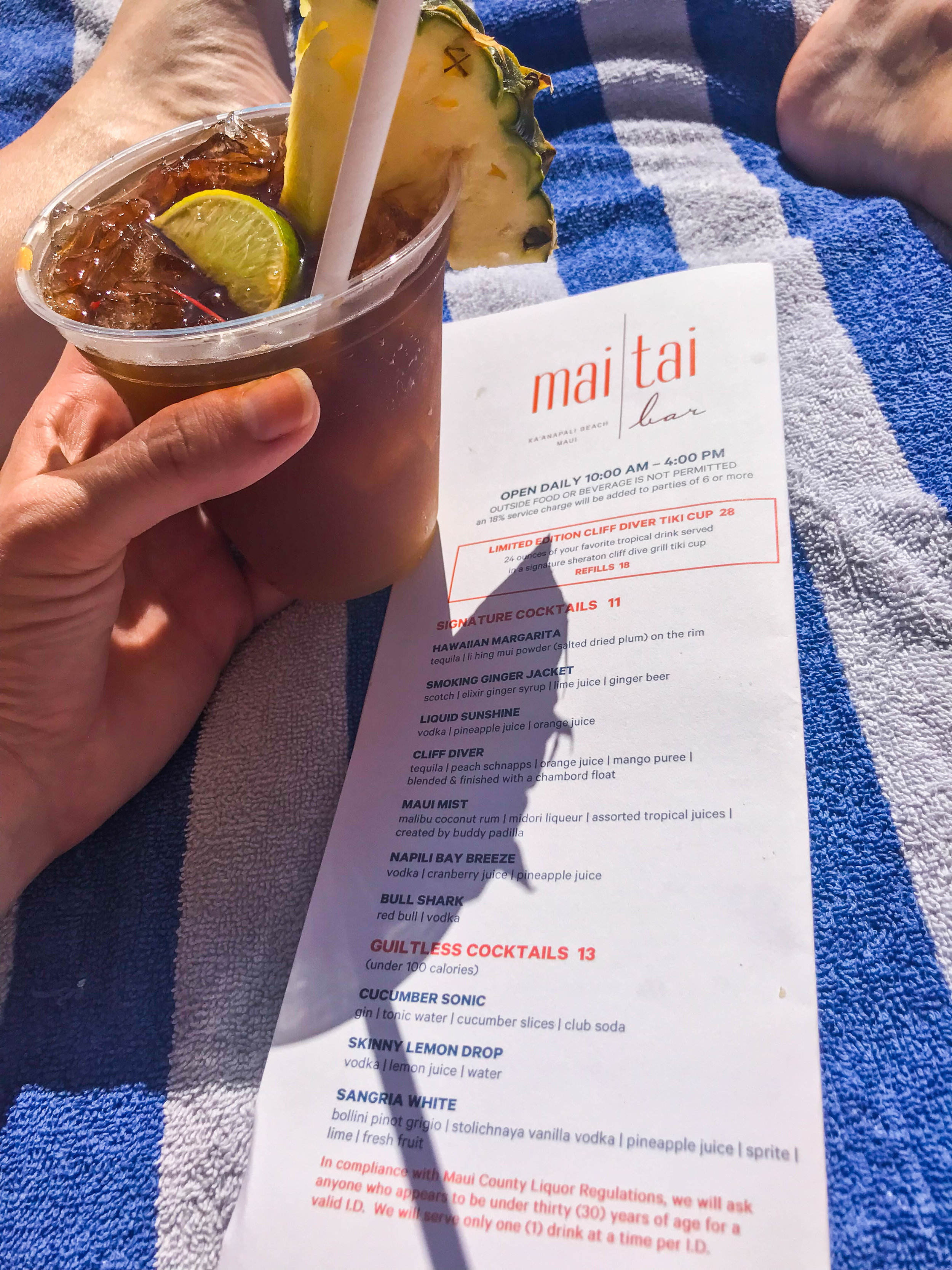 Sheraton Maui - Pool - Mai Tai Bar