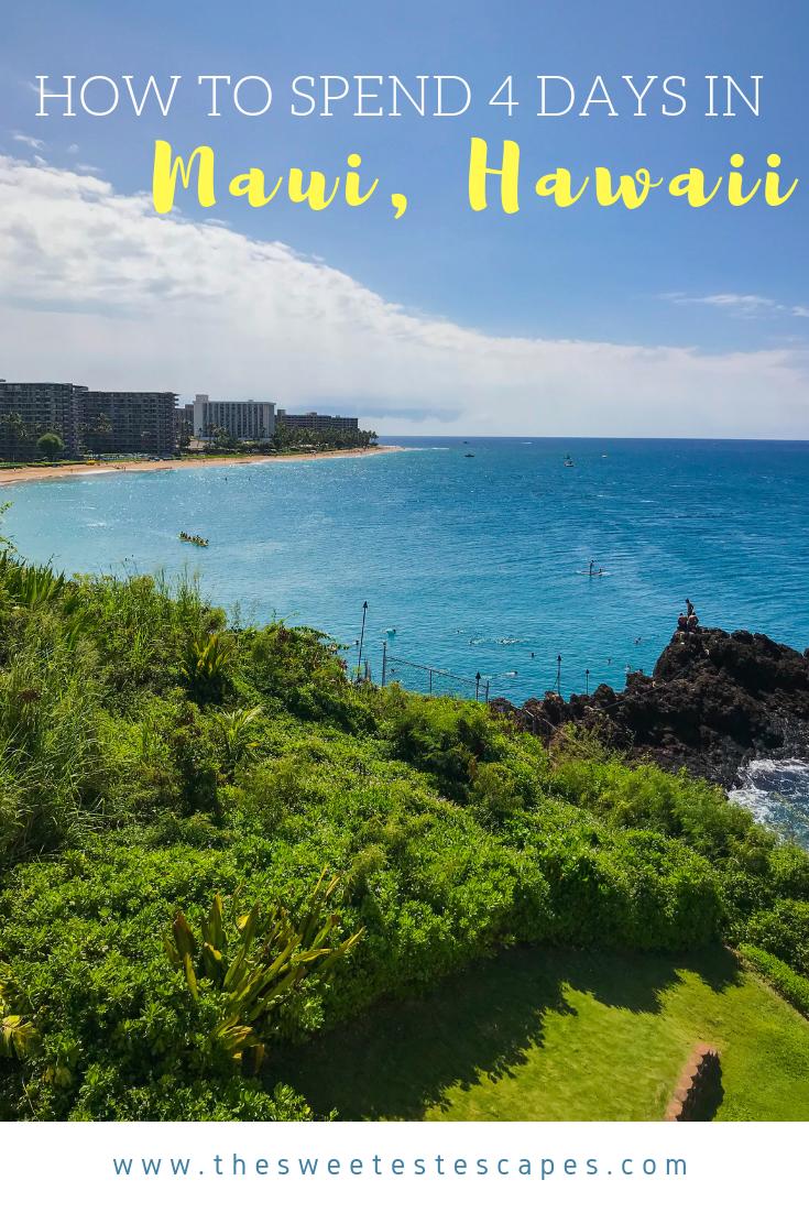 Maui, Hawaii - 4 Day Itinerary