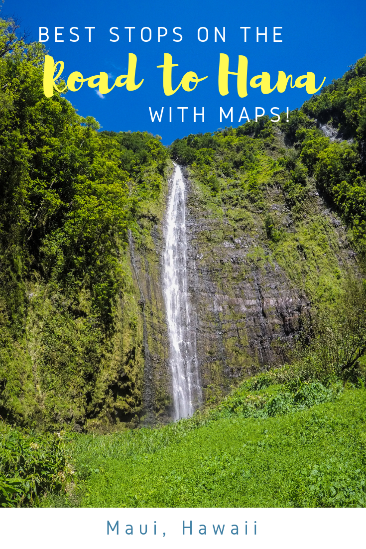 Best Stops on the Road to Hana with Maps - Maui Hawaii