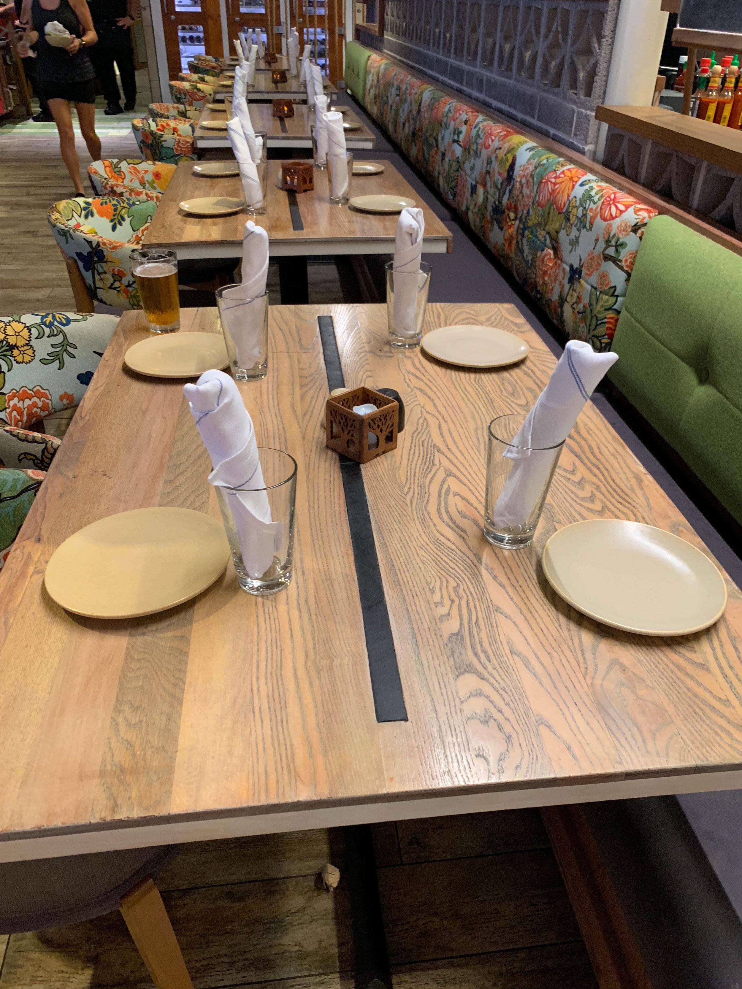 Maui Hawaii Monkeypod dining room