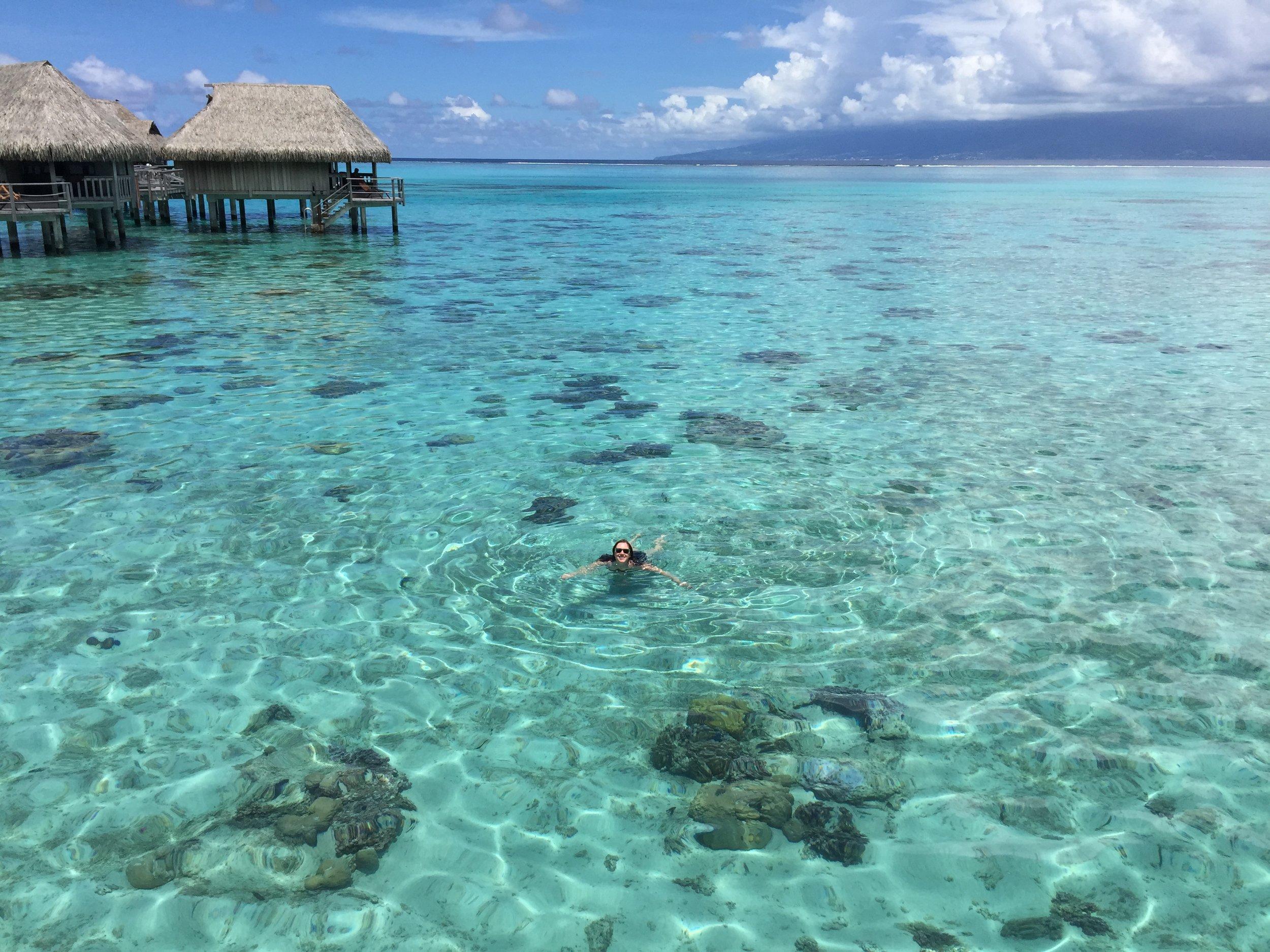Moorea - Overwater bungalow Sofitel Things to do