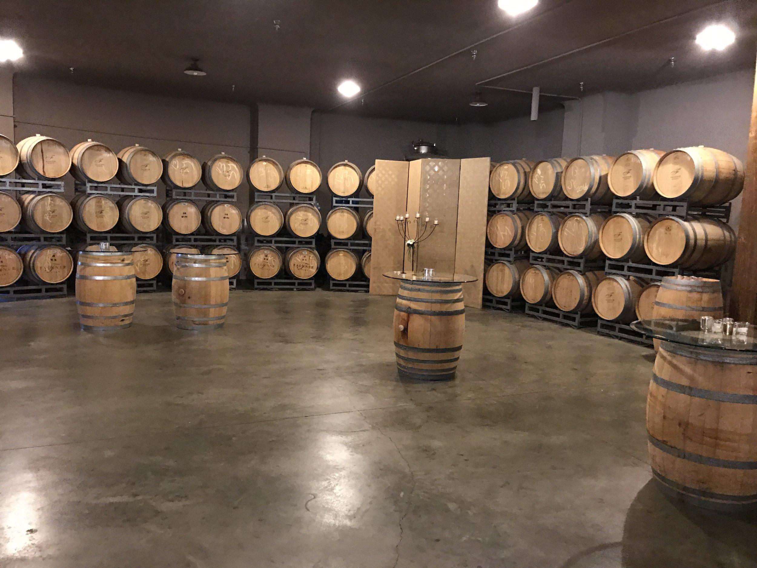 Wine tasting in Temecula, CA - Falkner Winery