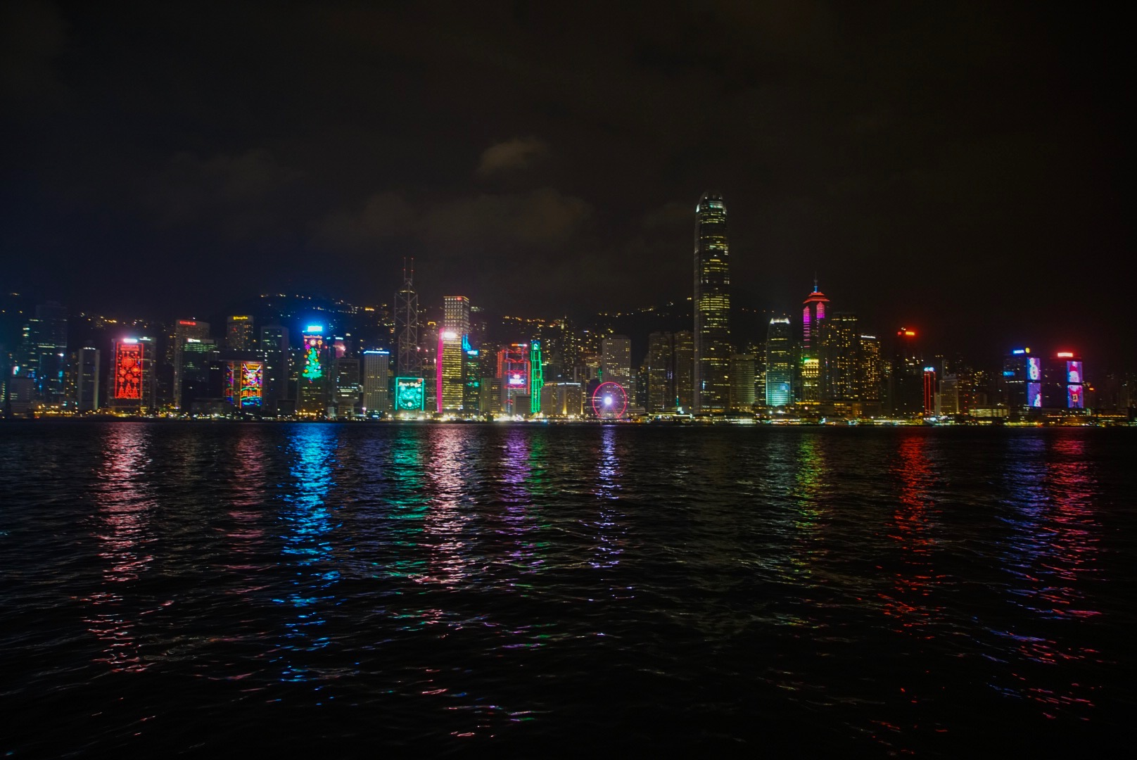 Hong Kong Intercontinental Hotel Views - Harbor