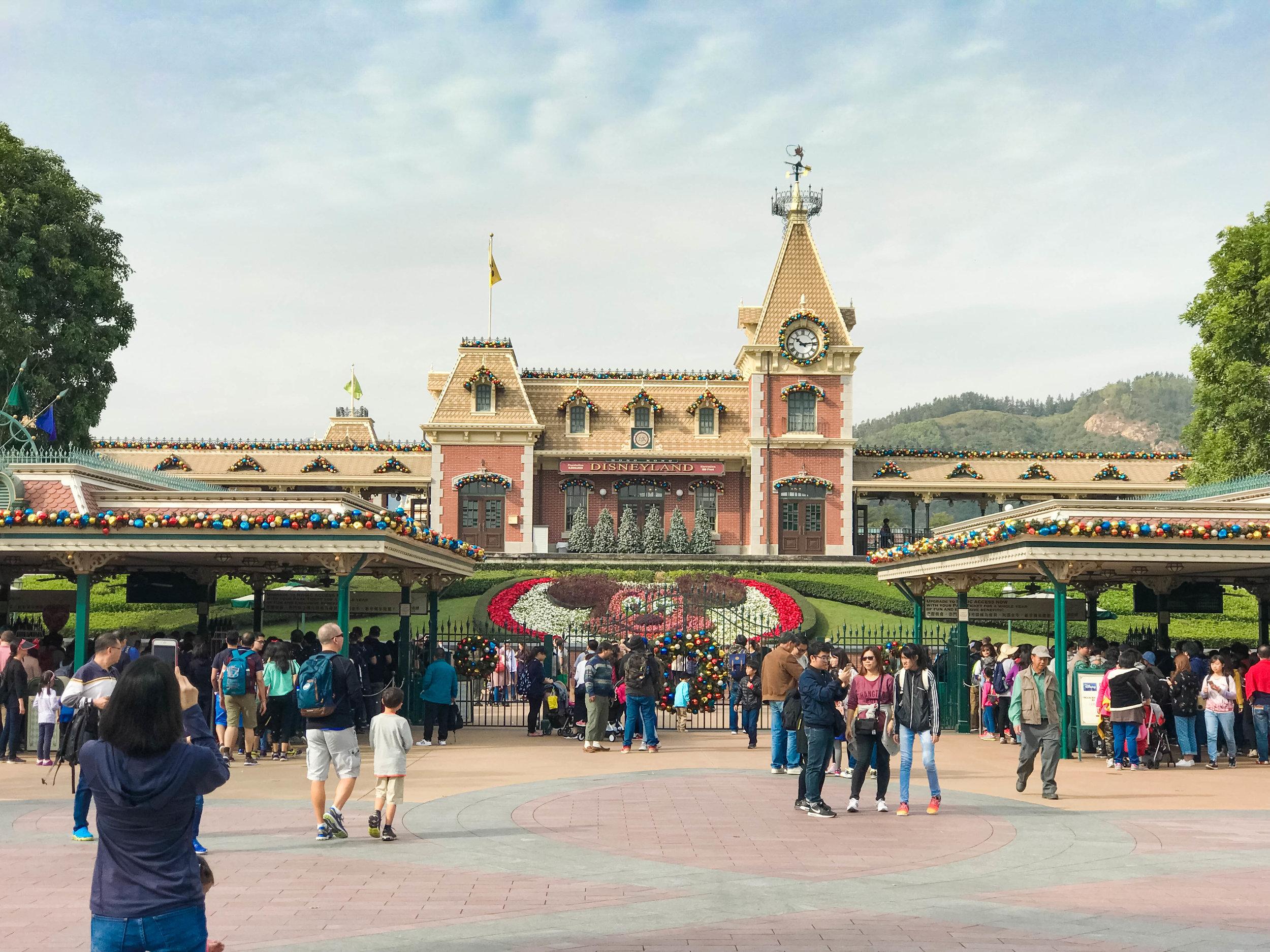 Hong Kong Disneyland Main Entrance