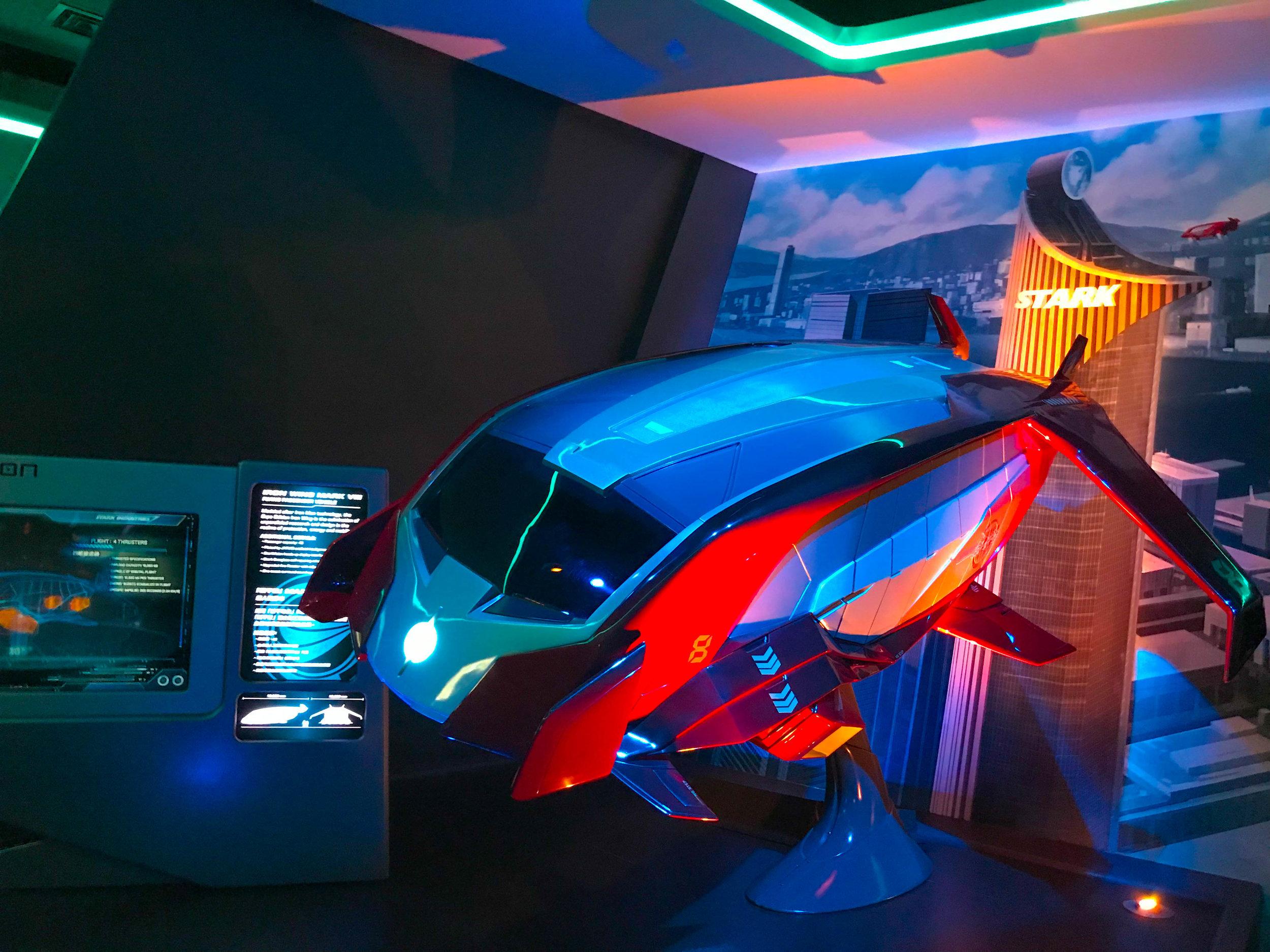 Iron Man Experience - Hong Kong Disneyland