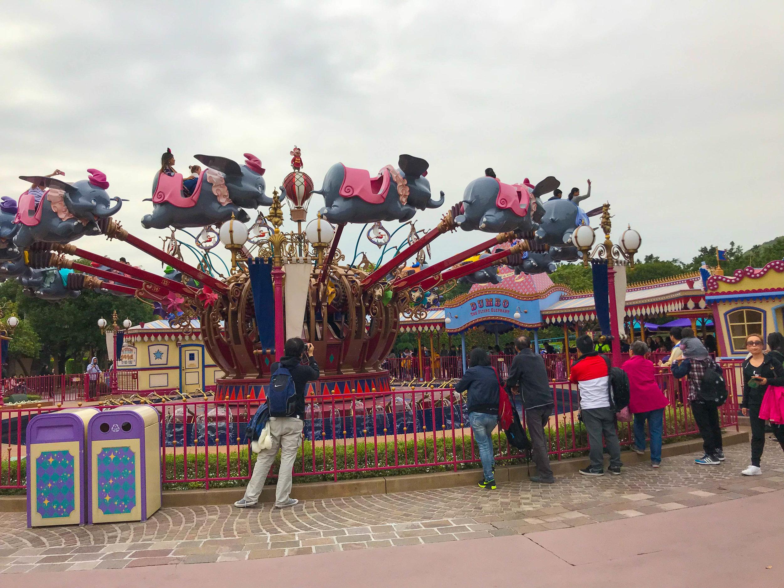 Hong Kong Disneyland - Fantasyland Dumbo