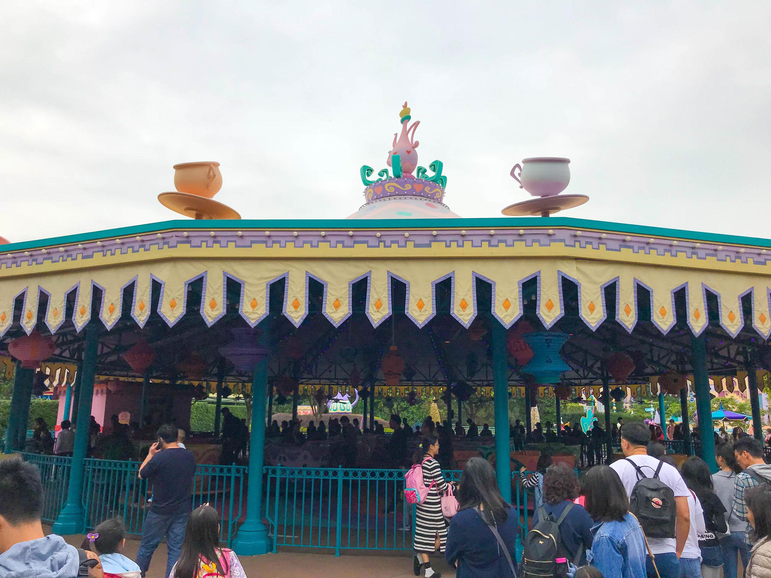 Hong Kong Disneyland - Fantasyland Tea Cups