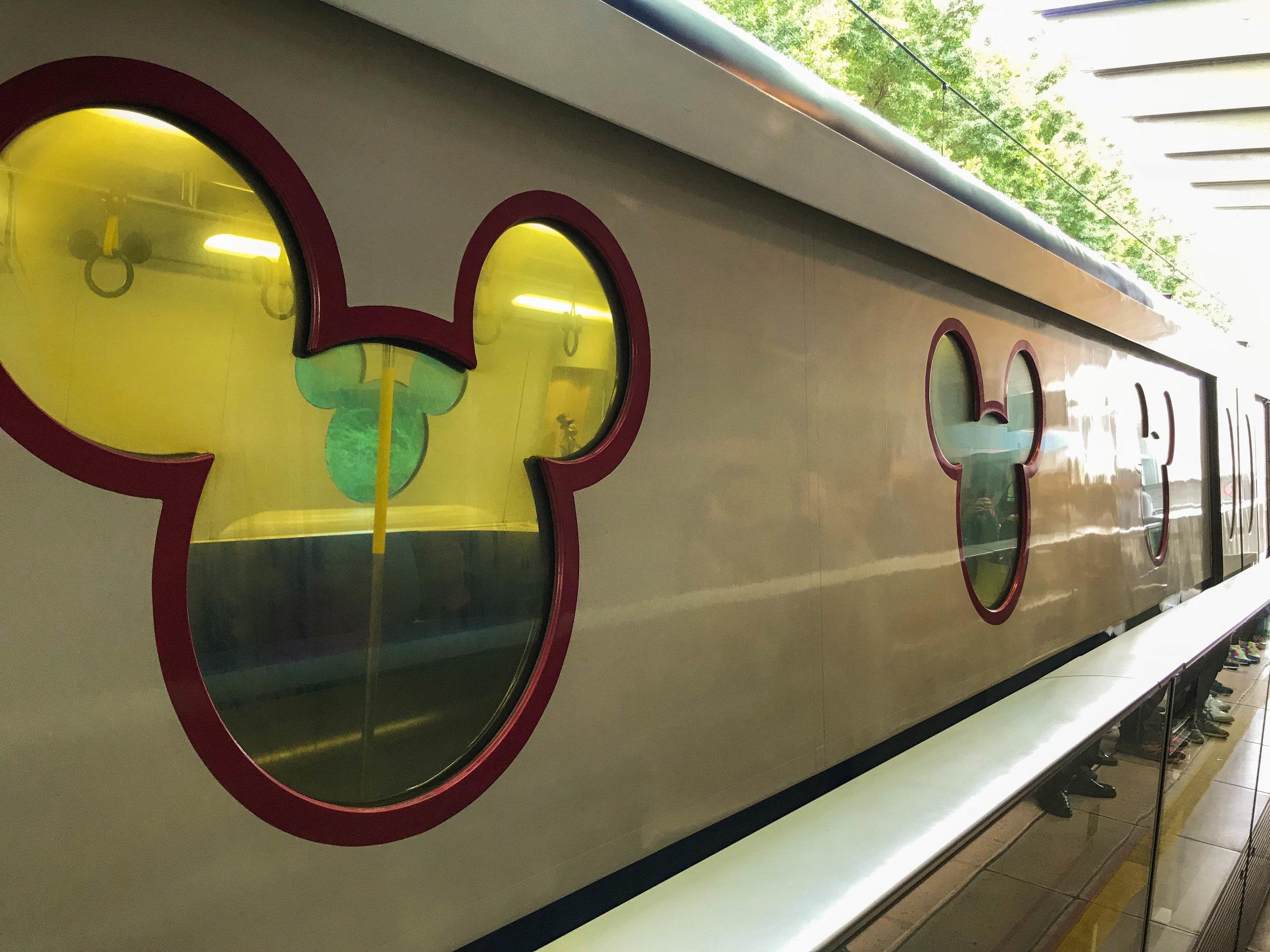 Hong Kong Disneyland - Mickey Train MTR