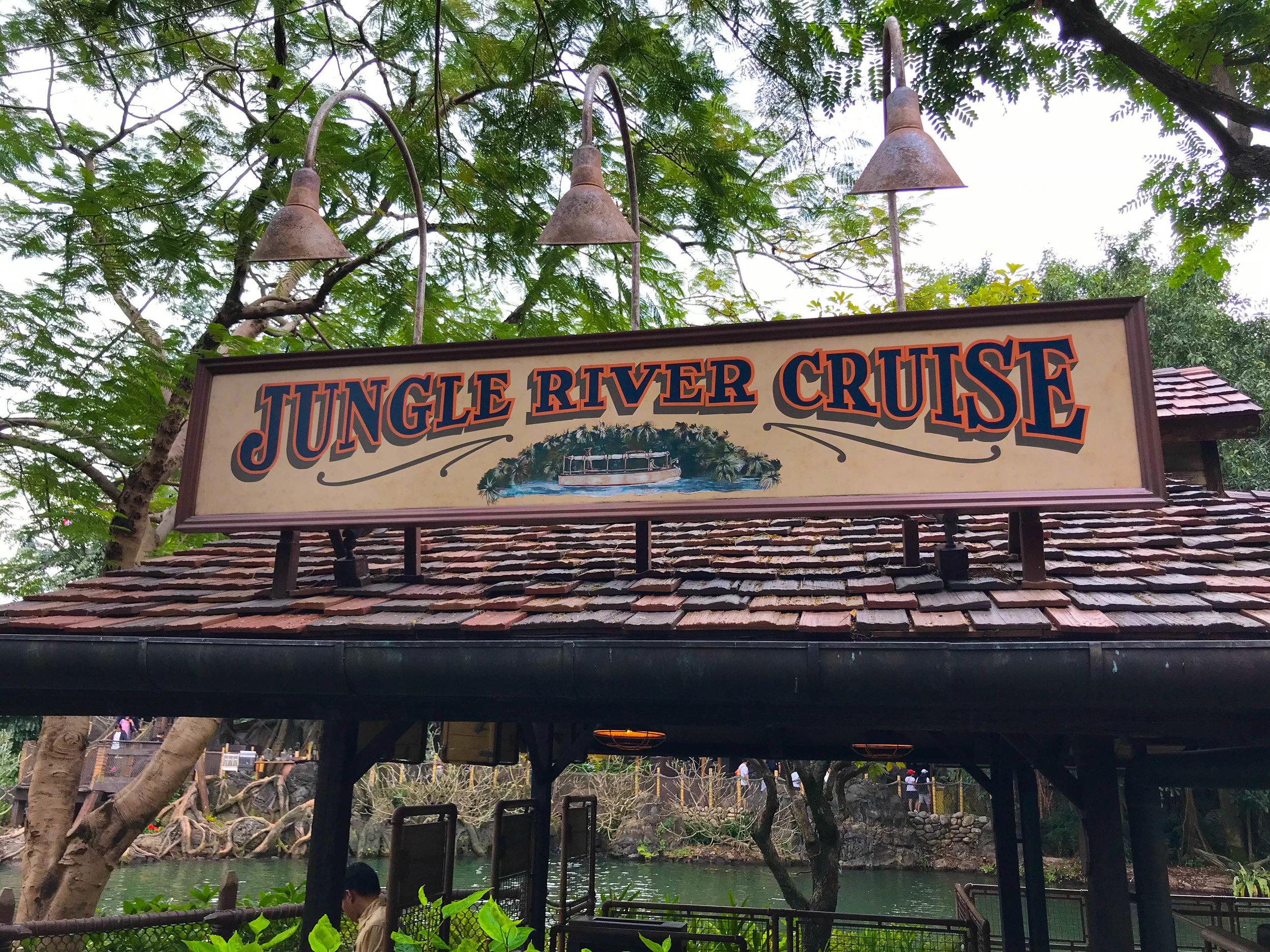 Hong Kong Disneyland - Adventureland Jungle Cruise