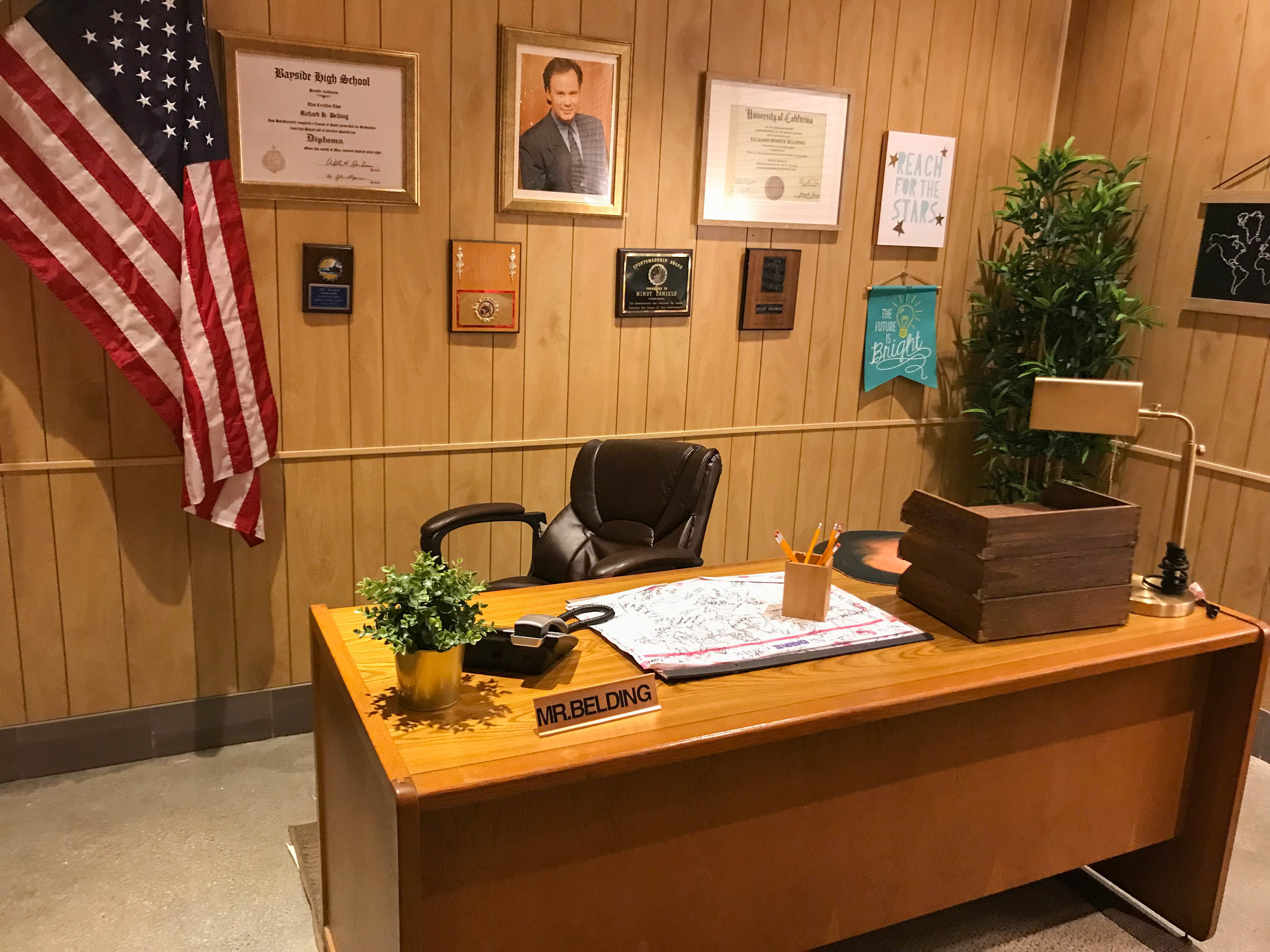 Saved By the Max - Saved by the Bell Pop-up Mr Belding's Office