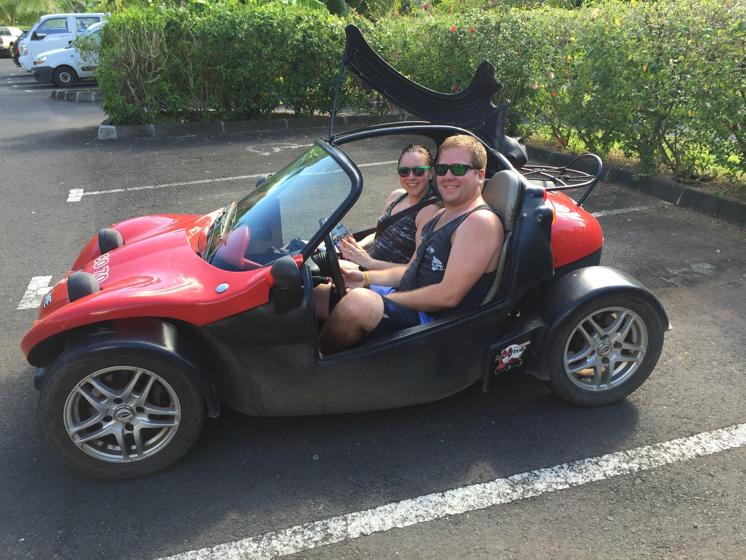 Buggy Ride in Moorea