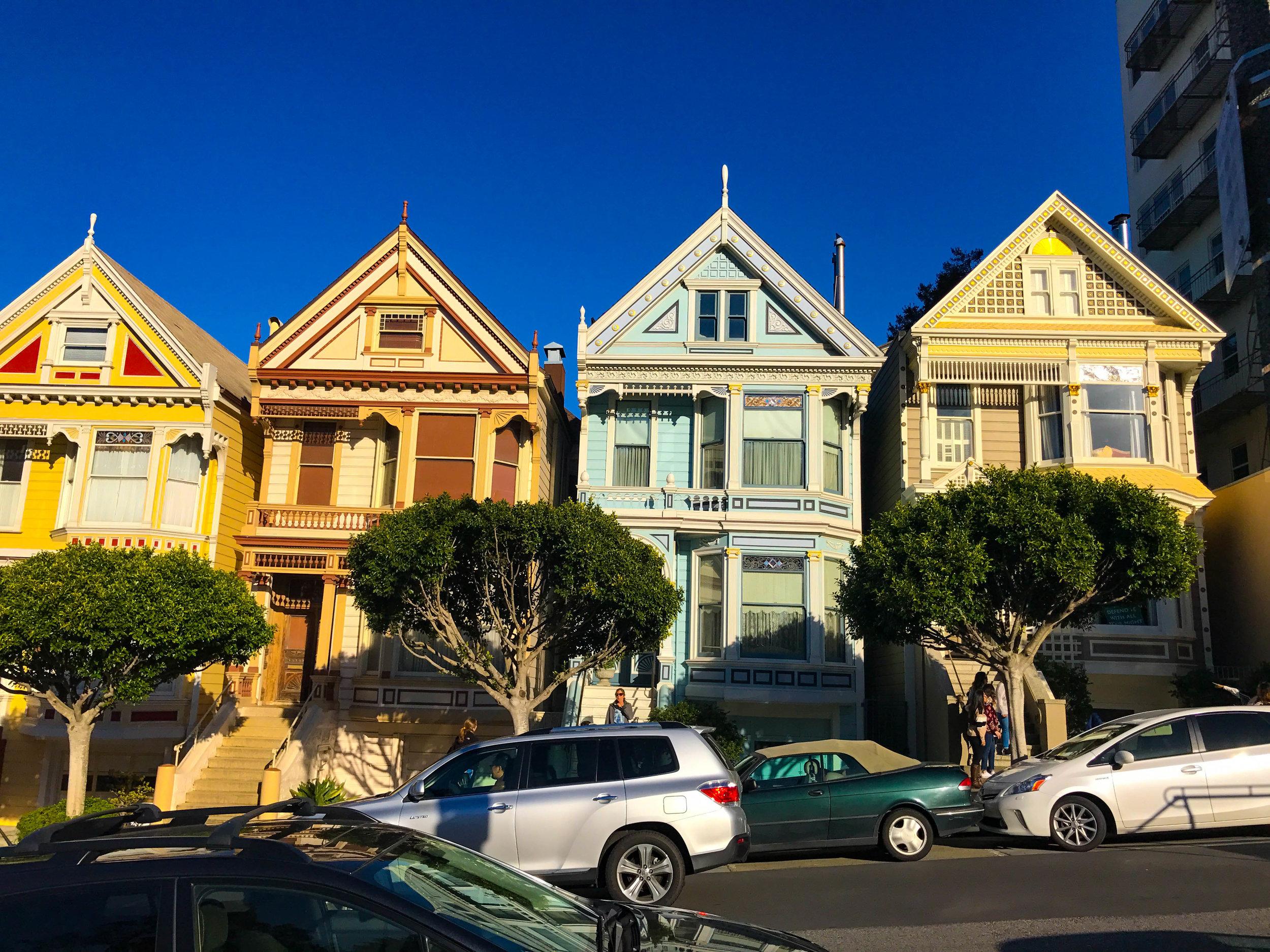Painted Ladies in San Francisco