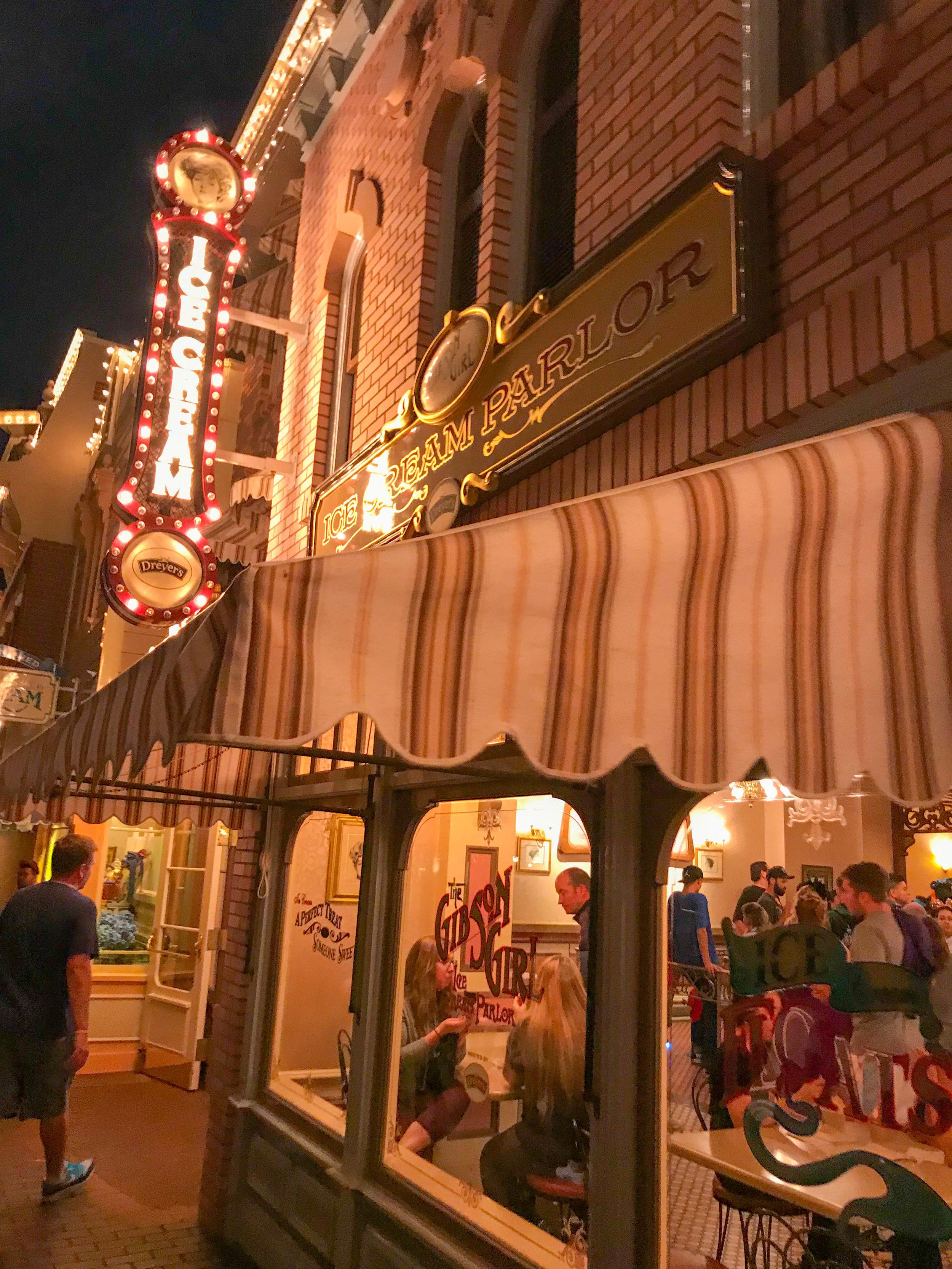 Gibson Girl Ice Cream Parlor Disneyland Main Street