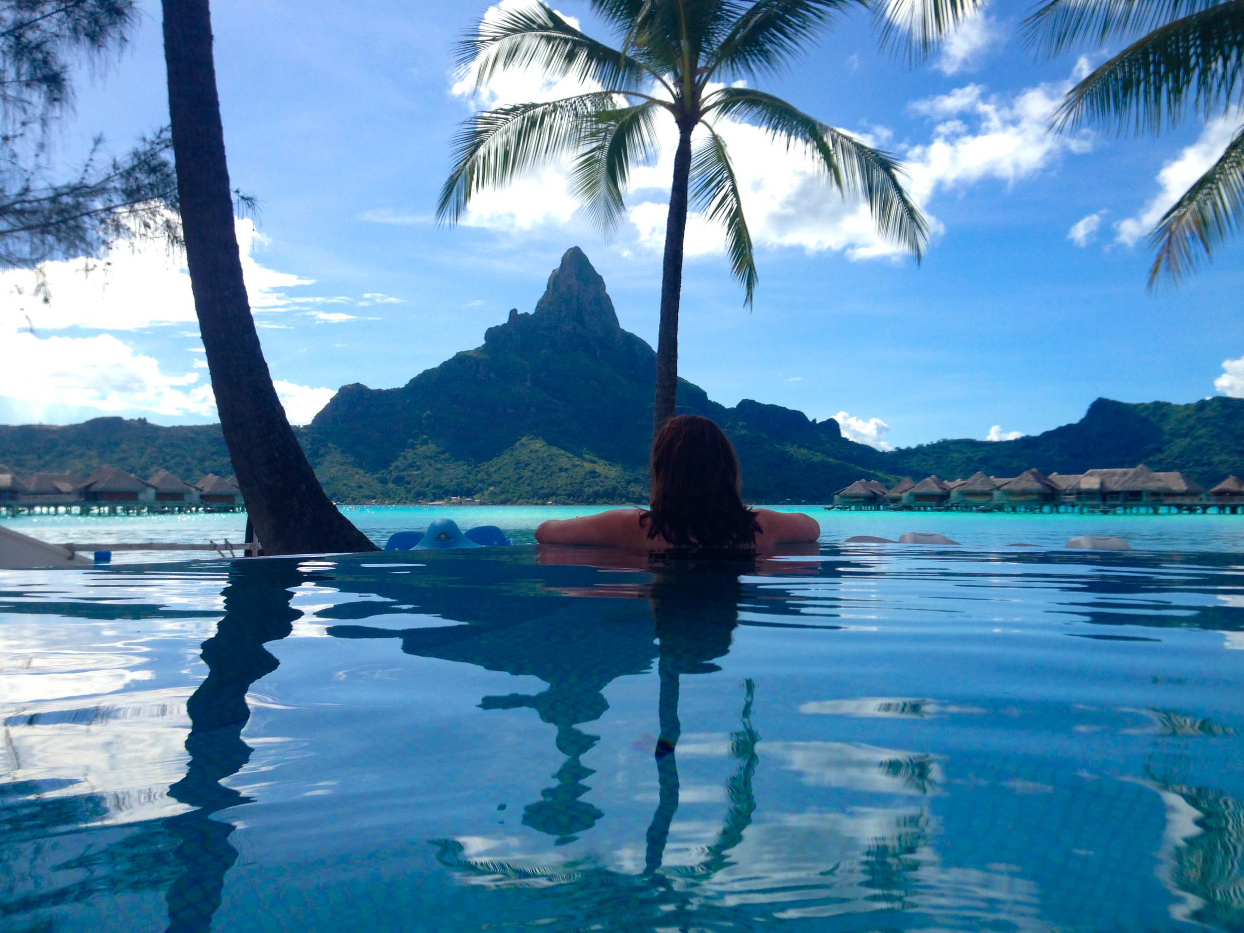 BORA BORA - Relax and stay in an overwater bungalow at the InterContinental
